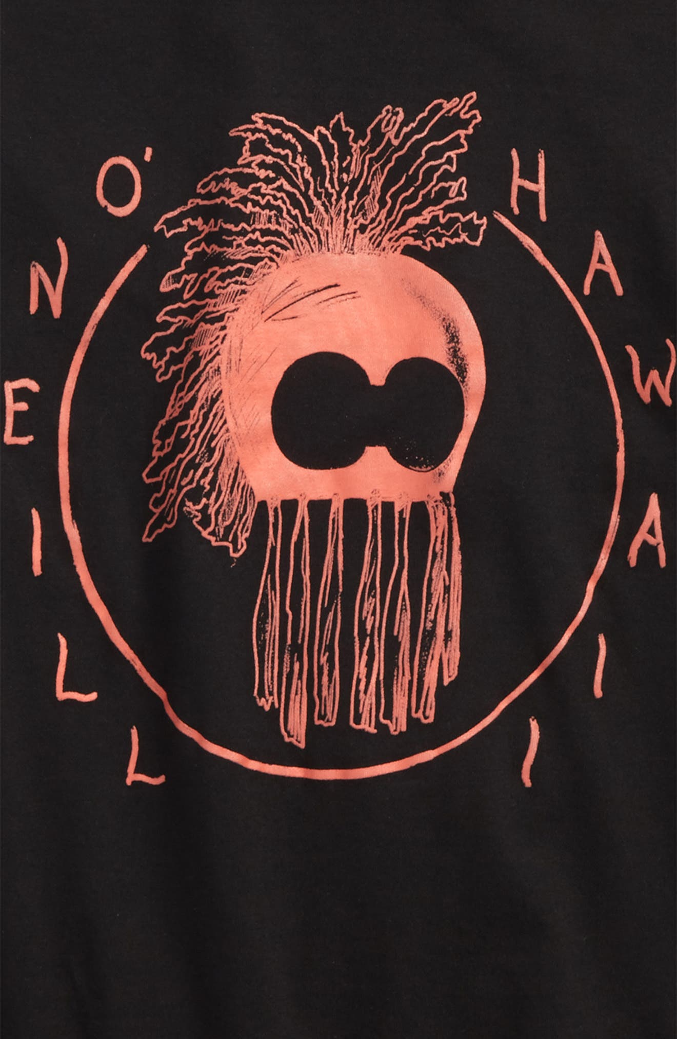 O'NEILL,                             Logo T-Shirt,                             Alternate thumbnail 2, color,                             001