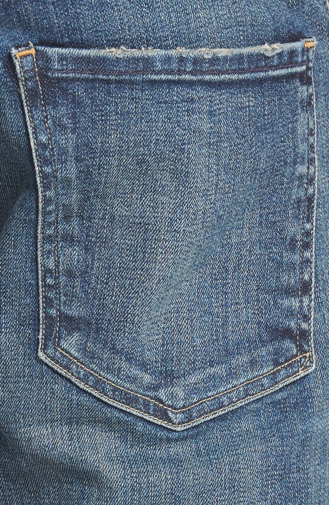 'Core' Slim Straight Leg Jeans,                             Alternate thumbnail 2, color,