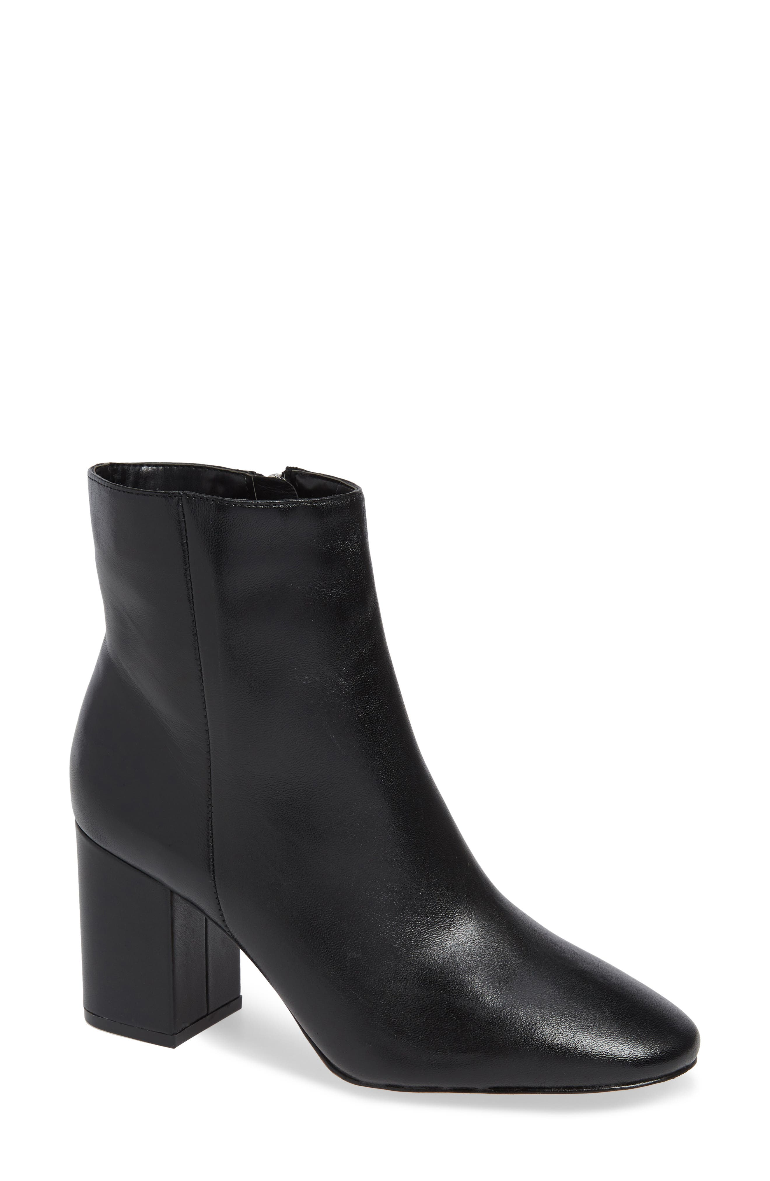 Alexa Boot,                             Main thumbnail 1, color,                             BLACK LEATHER
