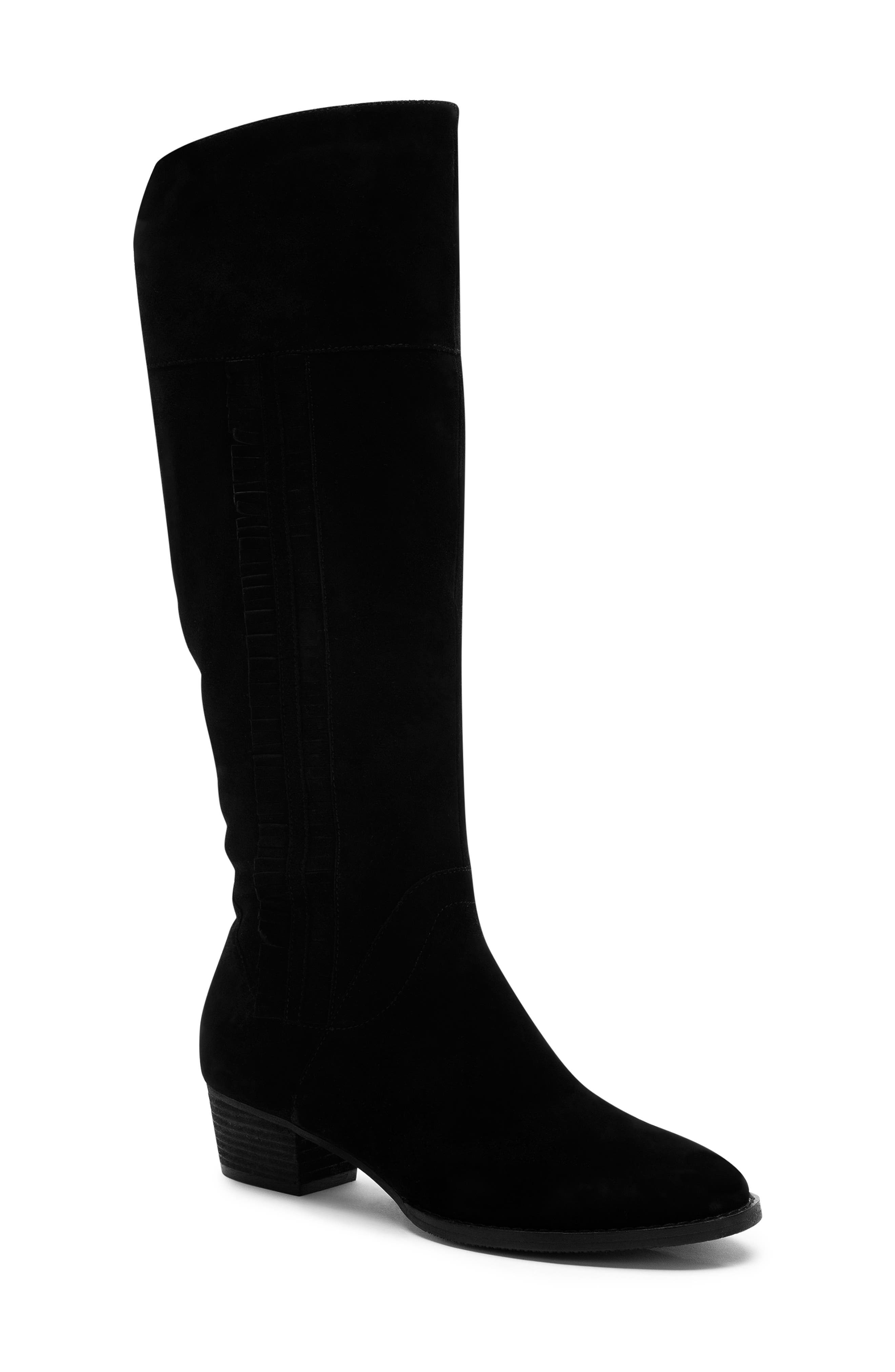 Blondo Nestle Waterproof Knee High Boot- Black