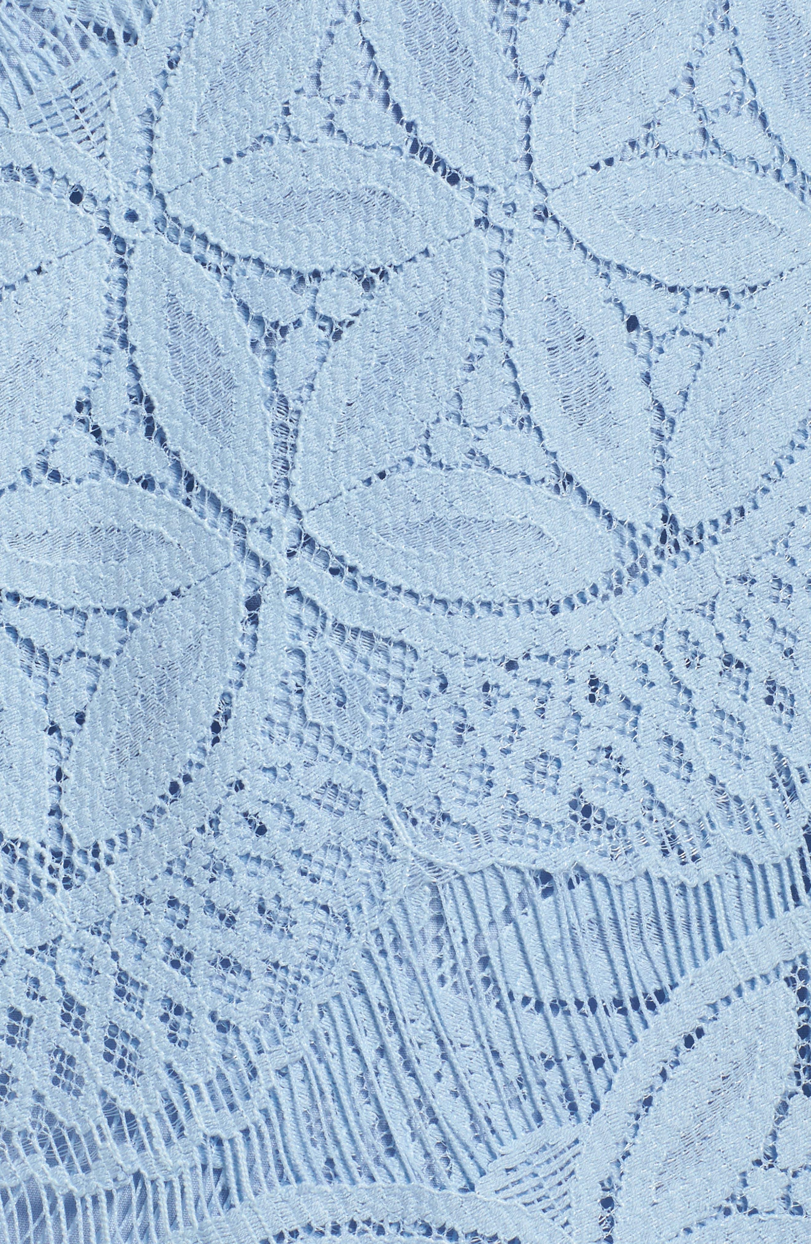 Lace High/Low Sheath Dress,                             Alternate thumbnail 39, color,
