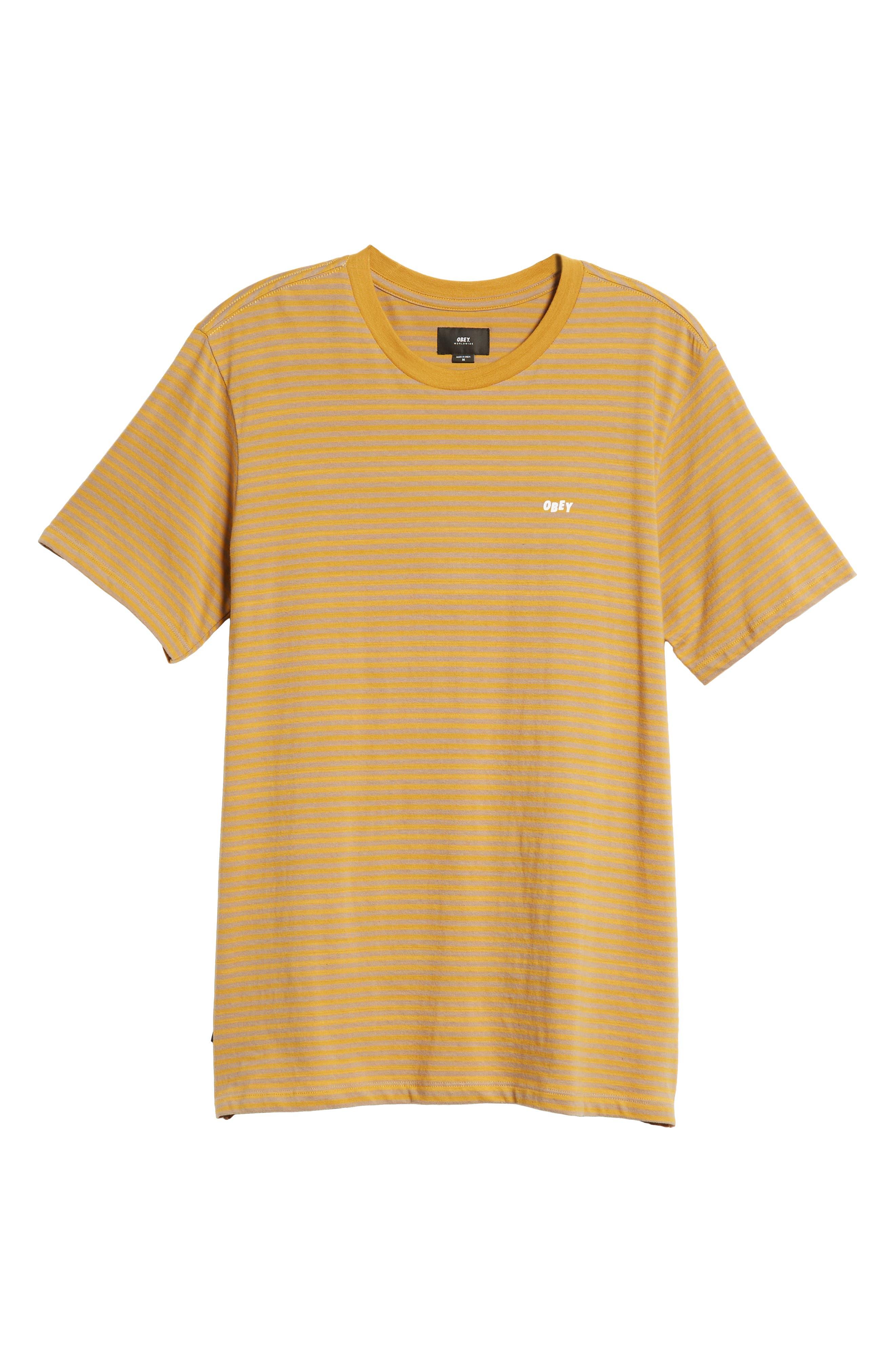 Apex Stripe T-Shirt,                             Alternate thumbnail 6, color,                             330