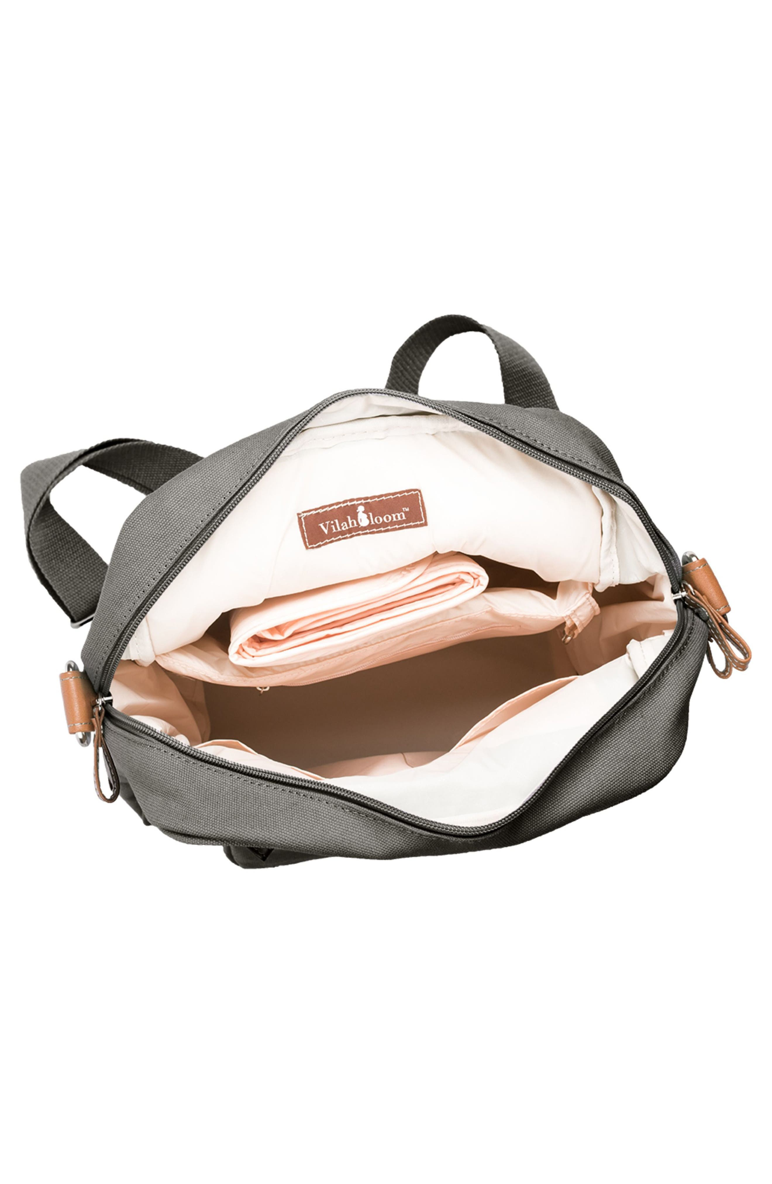 Monroe-On-the-Go Diaper Backpack,                             Alternate thumbnail 4, color,                             WINDY CITY