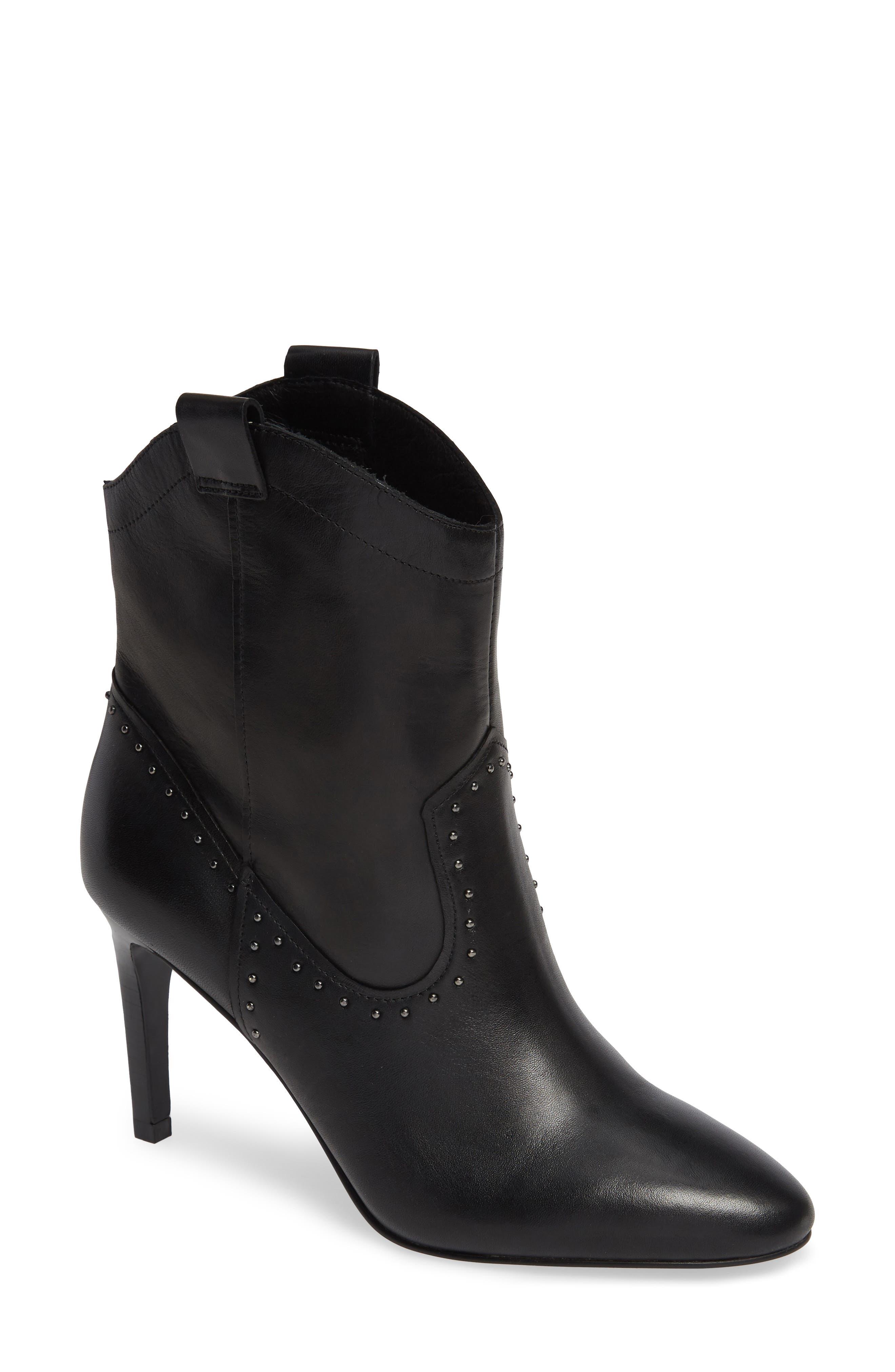 Halogen Palmer Boot, Black