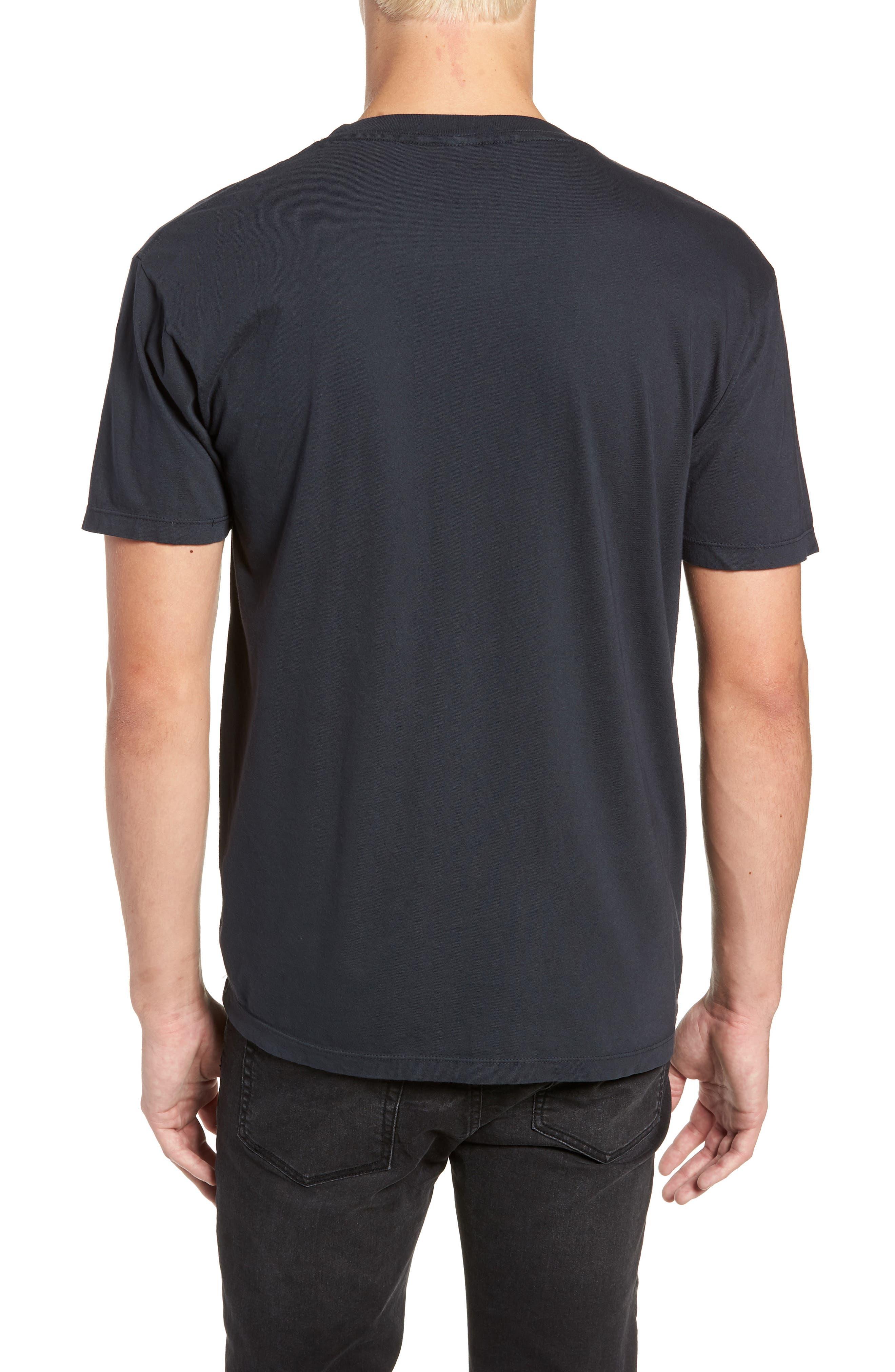Motion Graphic T-Shirt,                             Alternate thumbnail 2, color,                             BLACK