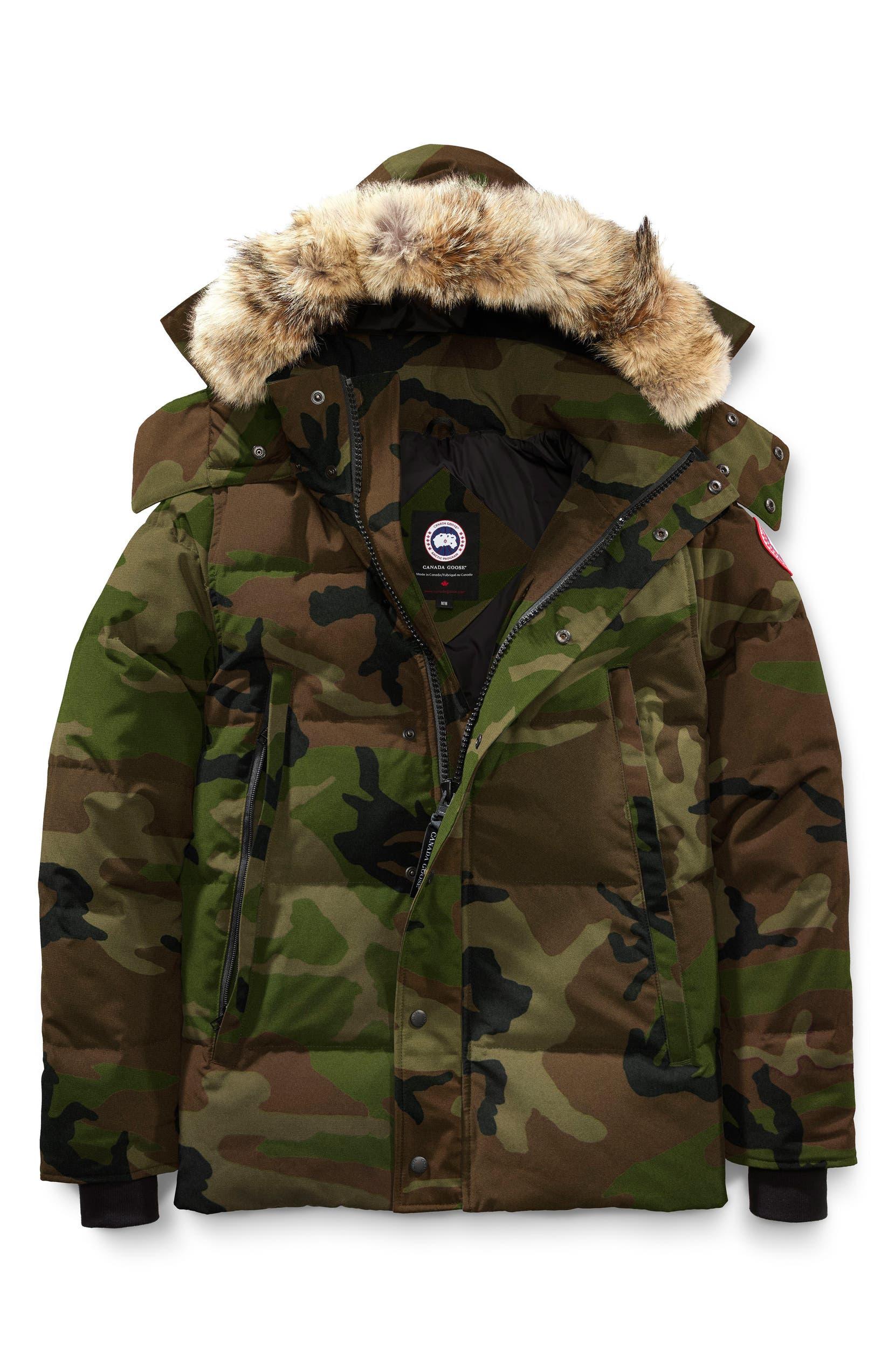 canada goose fur jacket