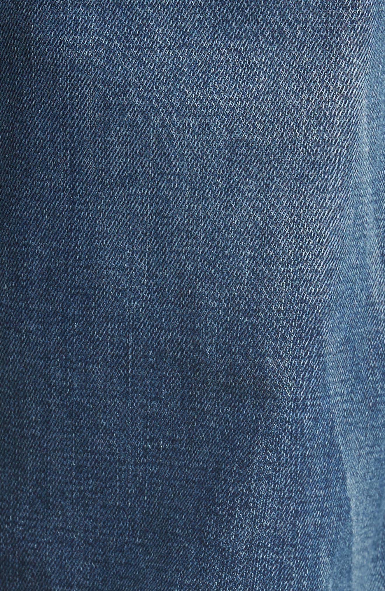 Byron Slim Straight Leg Jeans,                             Alternate thumbnail 5, color,                             400