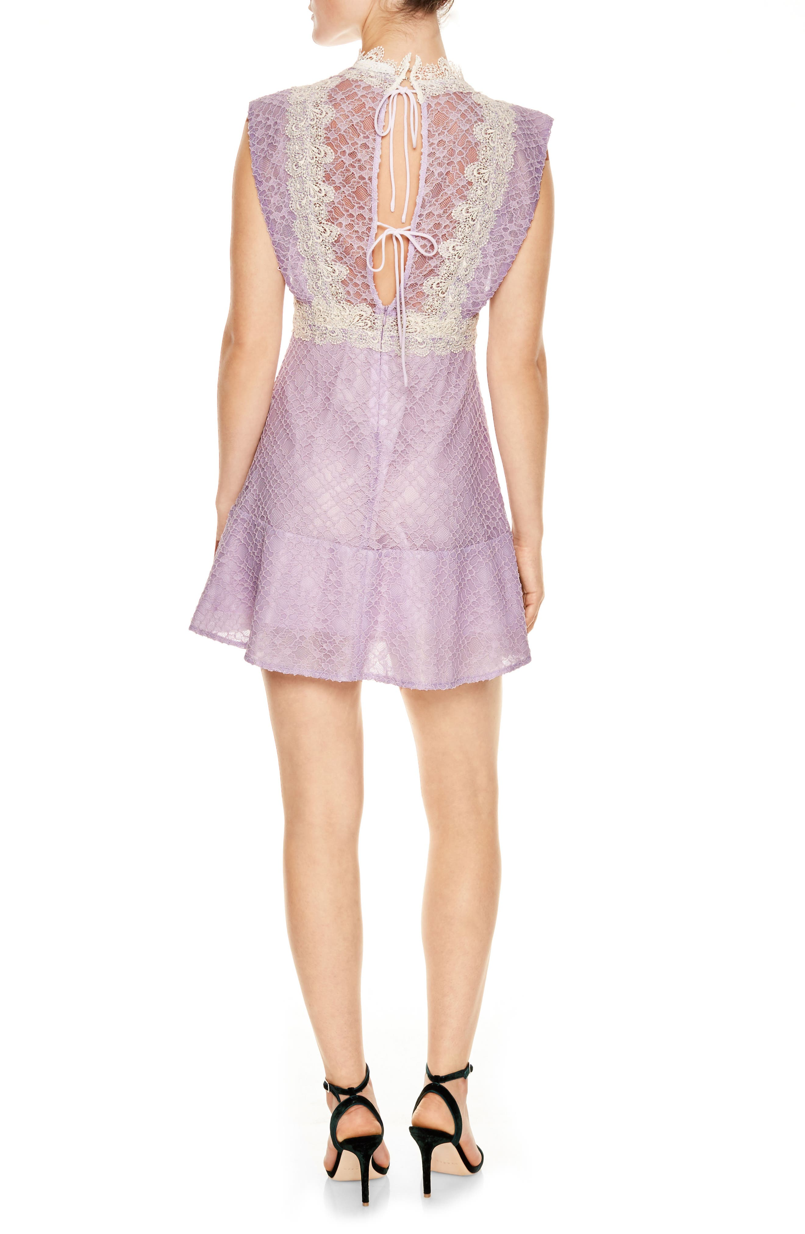 Peaches Lace Mindress,                             Alternate thumbnail 2, color,                             651