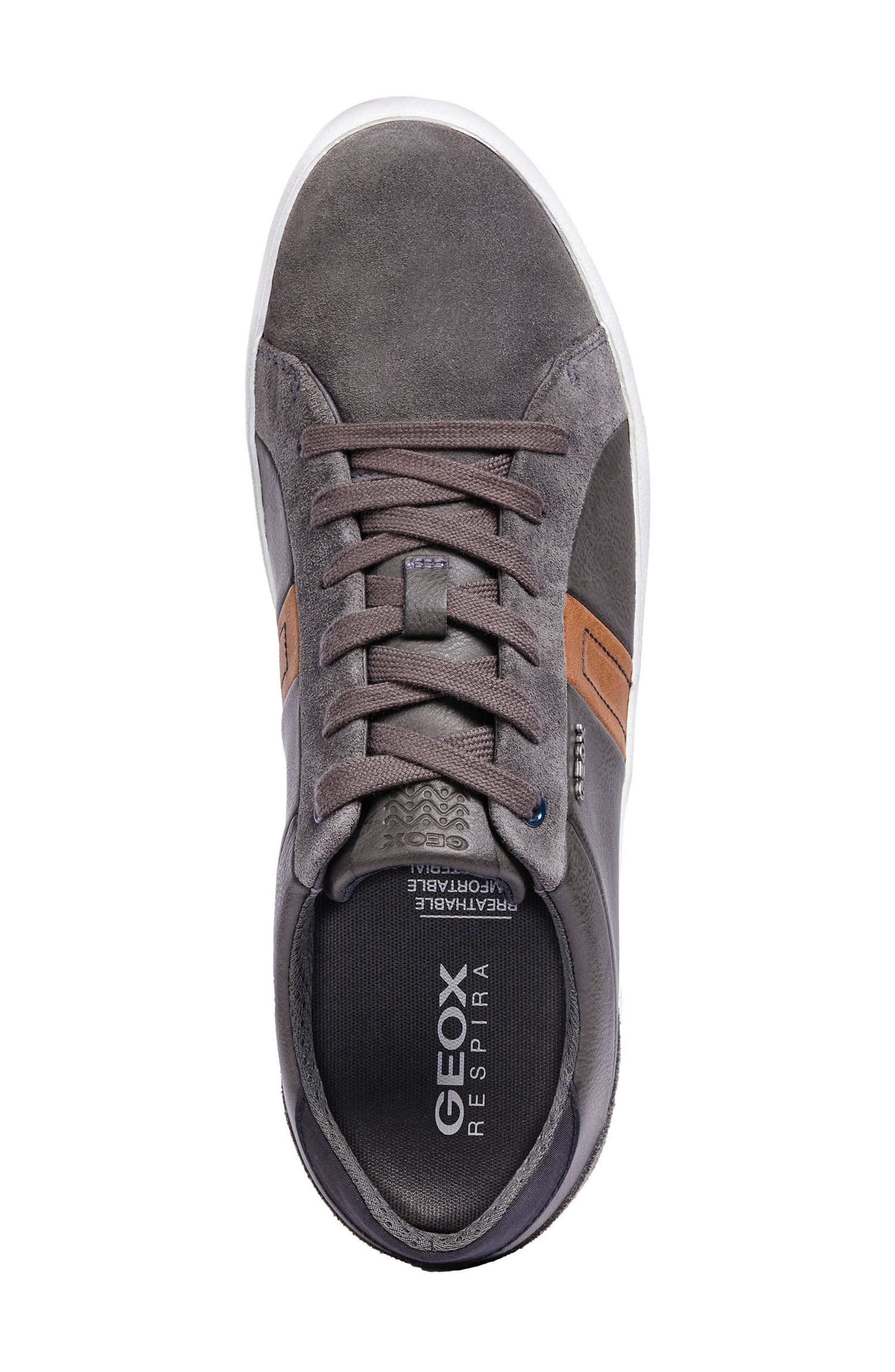 Box 40 Low Top Sneaker,                             Alternate thumbnail 5, color,                             ANTHRACITE LEATHER