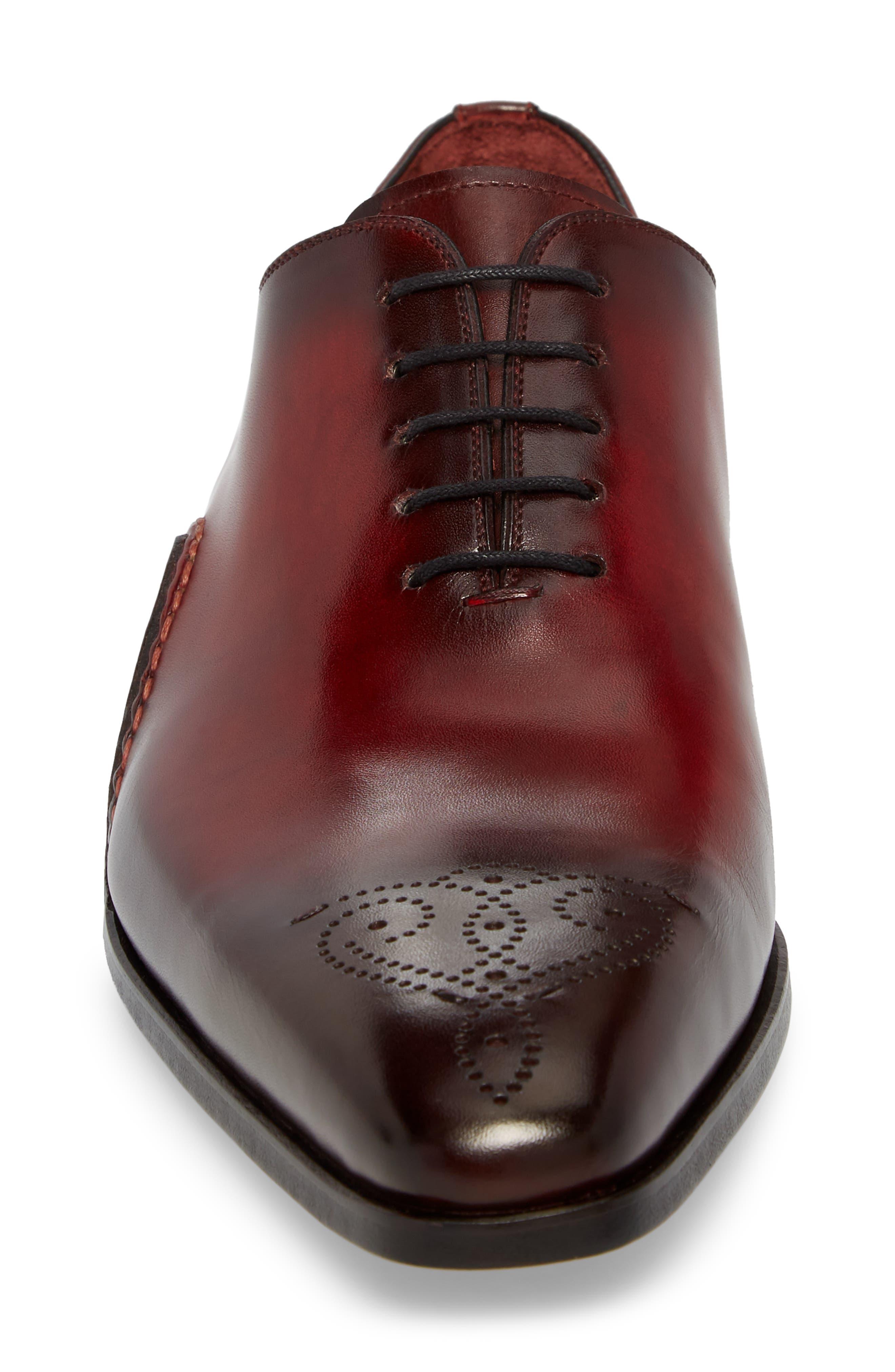 Vada Brogued Whole Cut Shoe,                             Alternate thumbnail 4, color,                             600