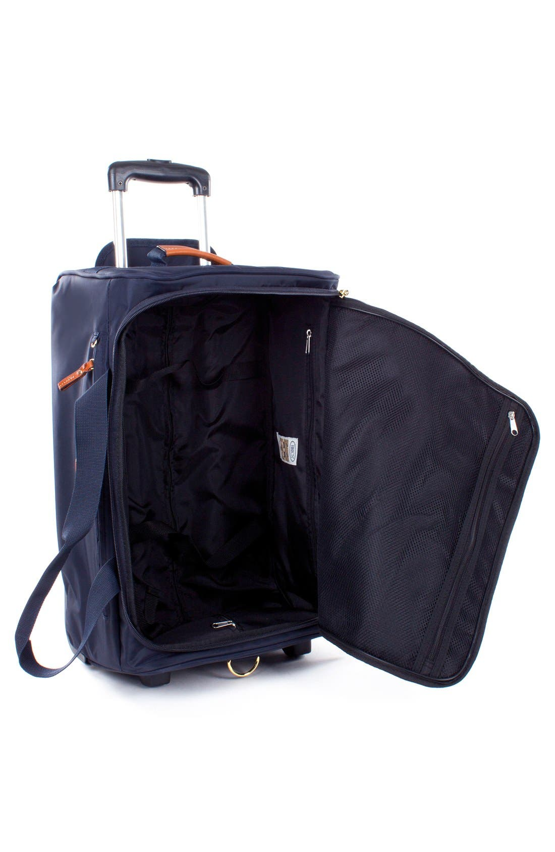 X-Bag 21-Inch Rolling Carry-On Duffel Bag,                             Alternate thumbnail 4, color,                             NAVY
