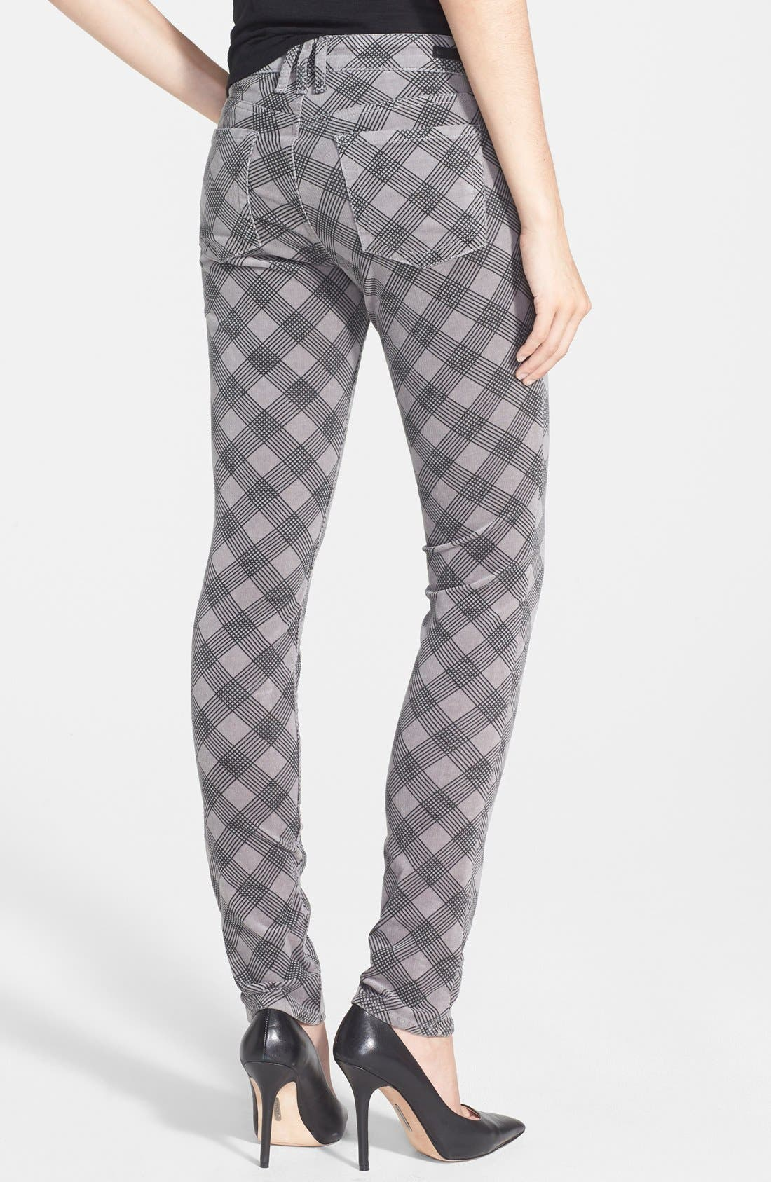 'Diana' Stretch Corduroy Skinny Pants,                             Alternate thumbnail 321, color,