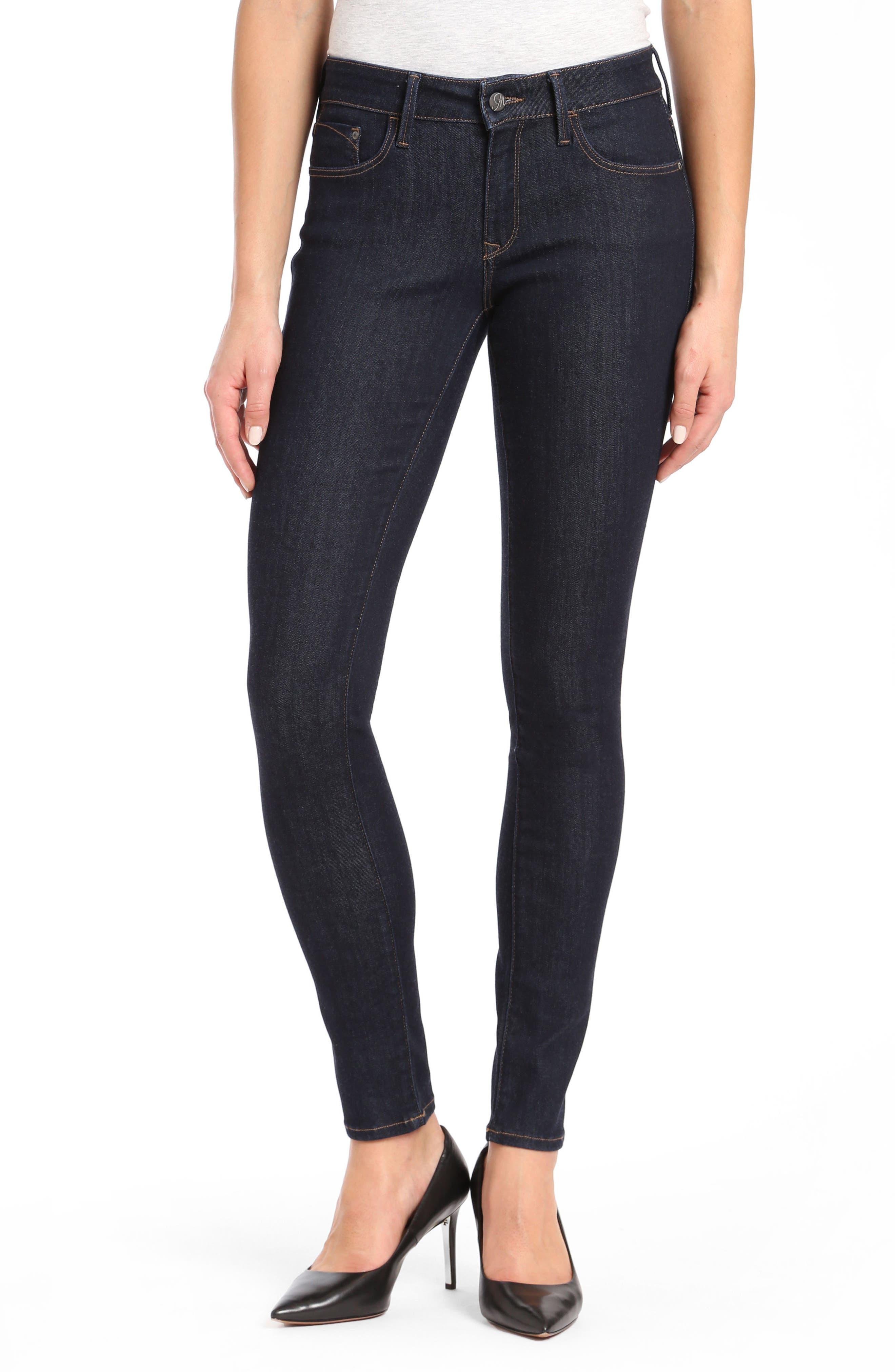 Mavi Alexa Supersoft Skinny Jeans,                         Main,                         color, RINSE SUPER SOFT