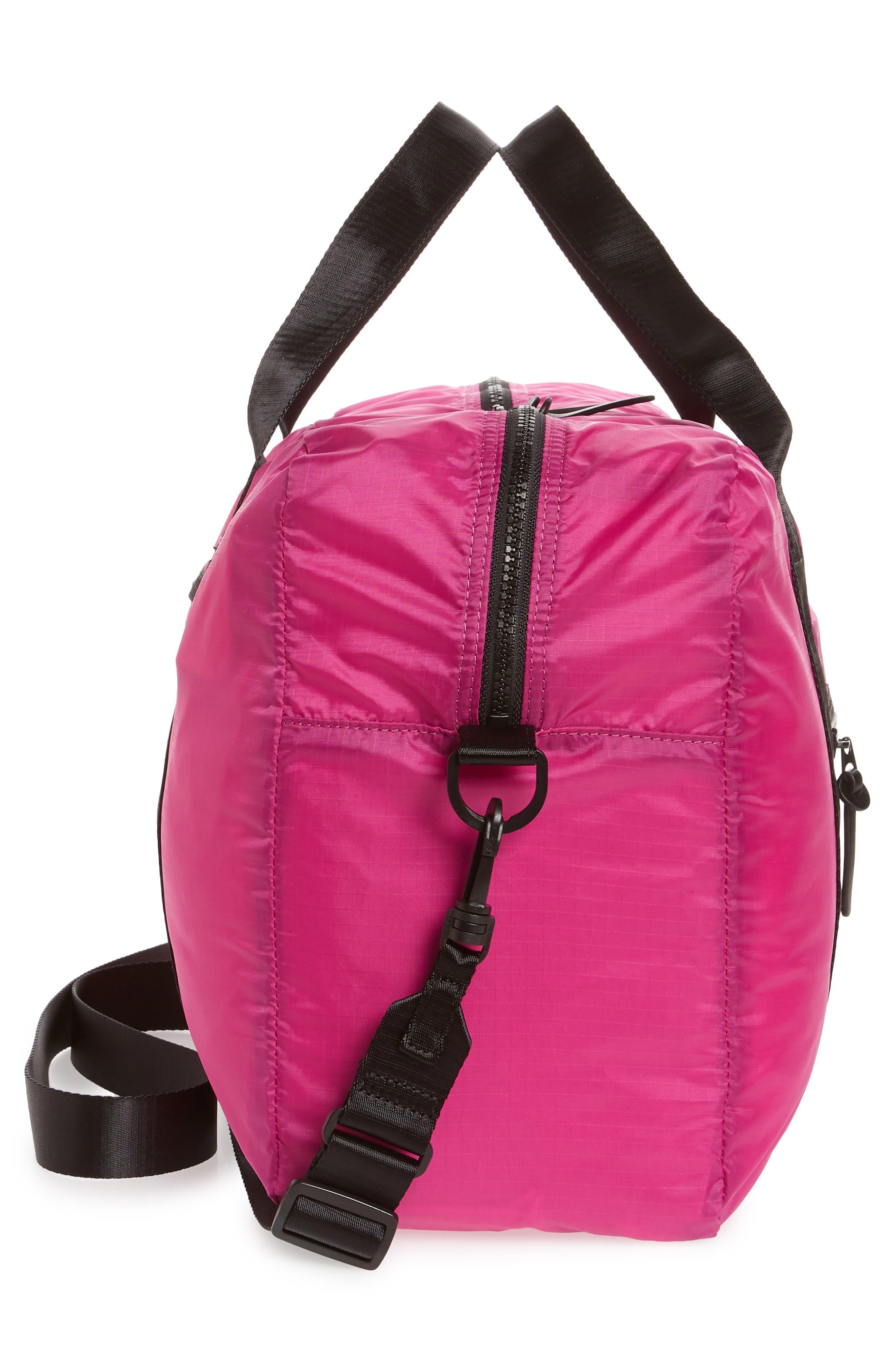 Packable Nylon Duffel Bag,                             Alternate thumbnail 15, color,