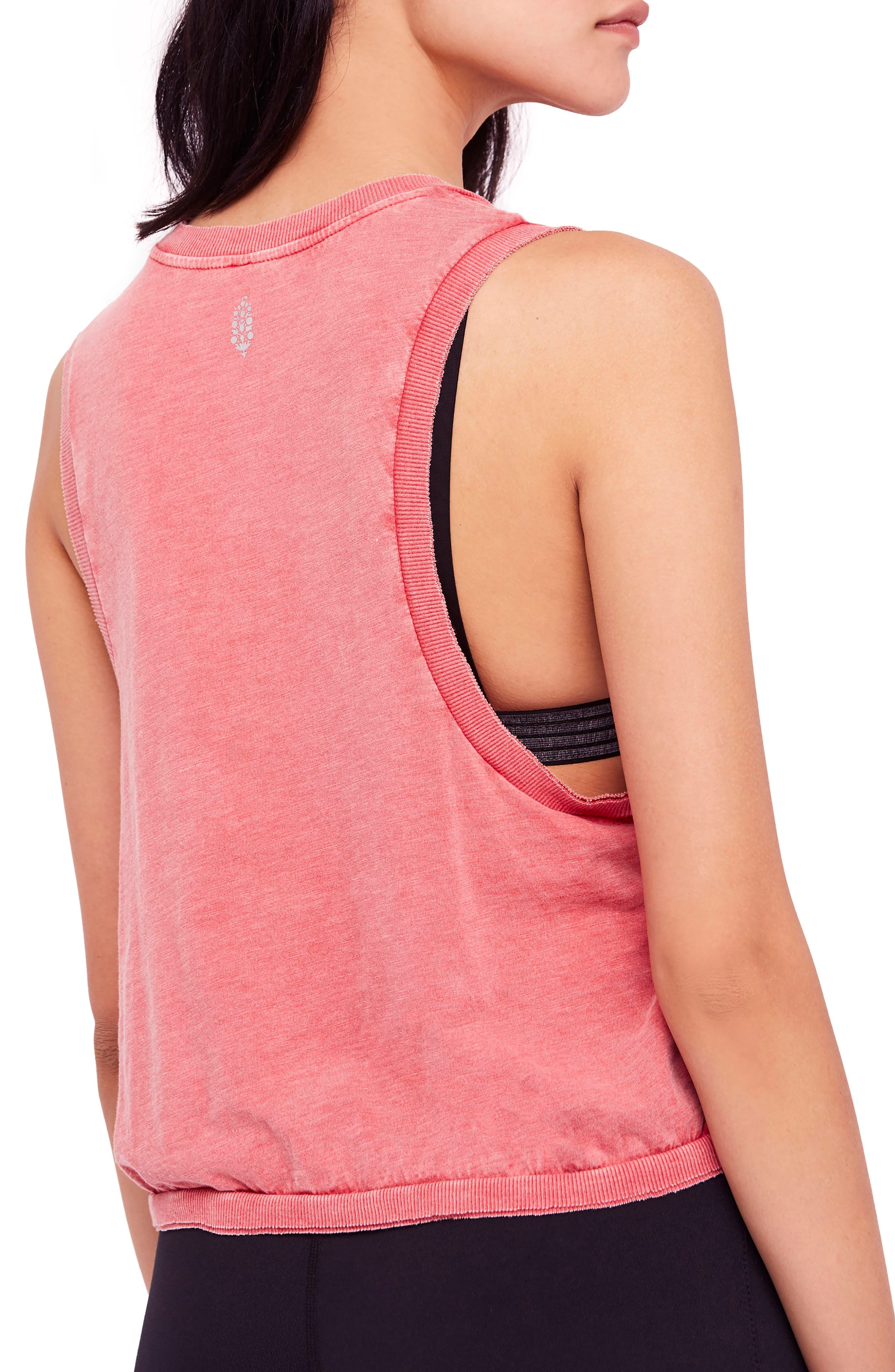 free people Move Graphic Tank,                             Alternate thumbnail 2, color,                             RED