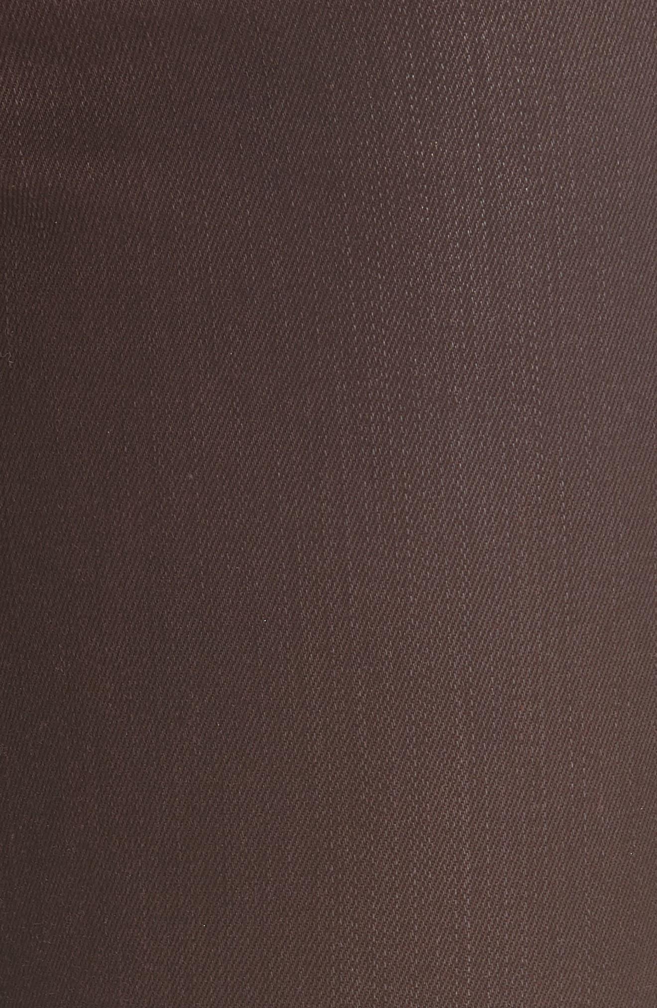 AO.LA Good High Waist Ankle Skinny Jeans,                             Alternate thumbnail 5, color,                             WINE/ BUBBLEGUM