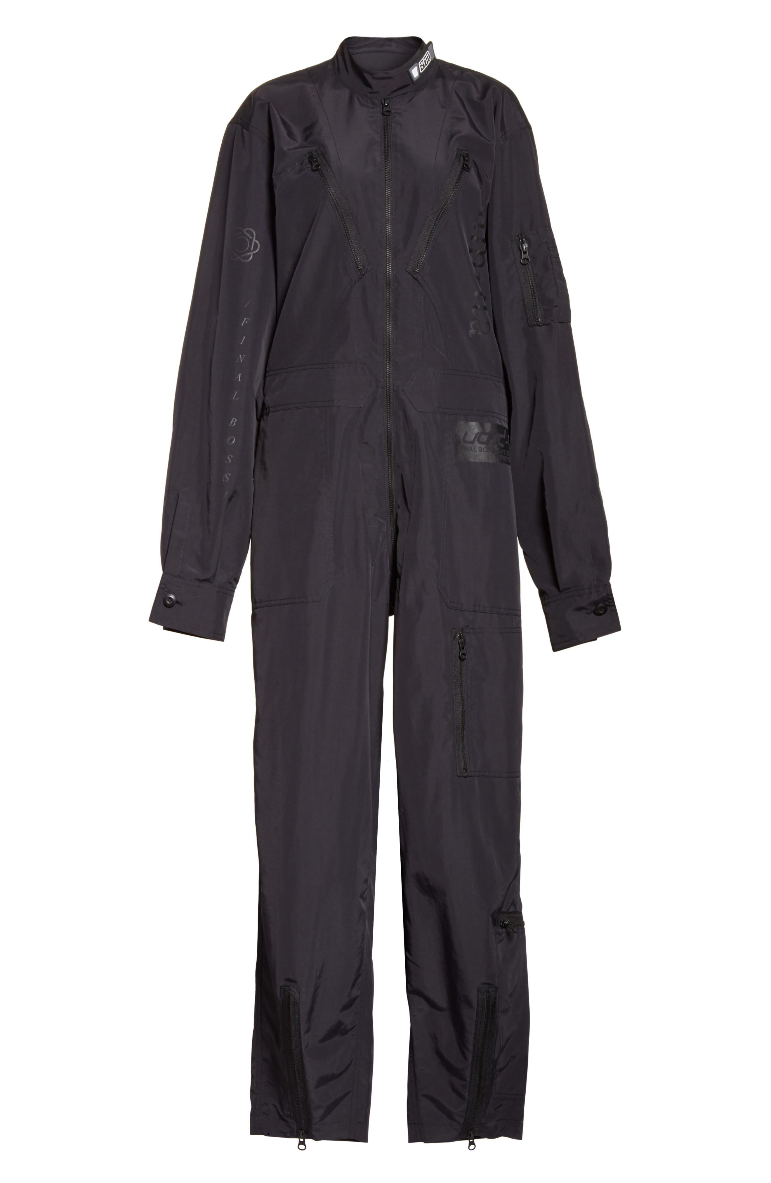 Kaneda Boiler Suit,                             Alternate thumbnail 6, color,                             001