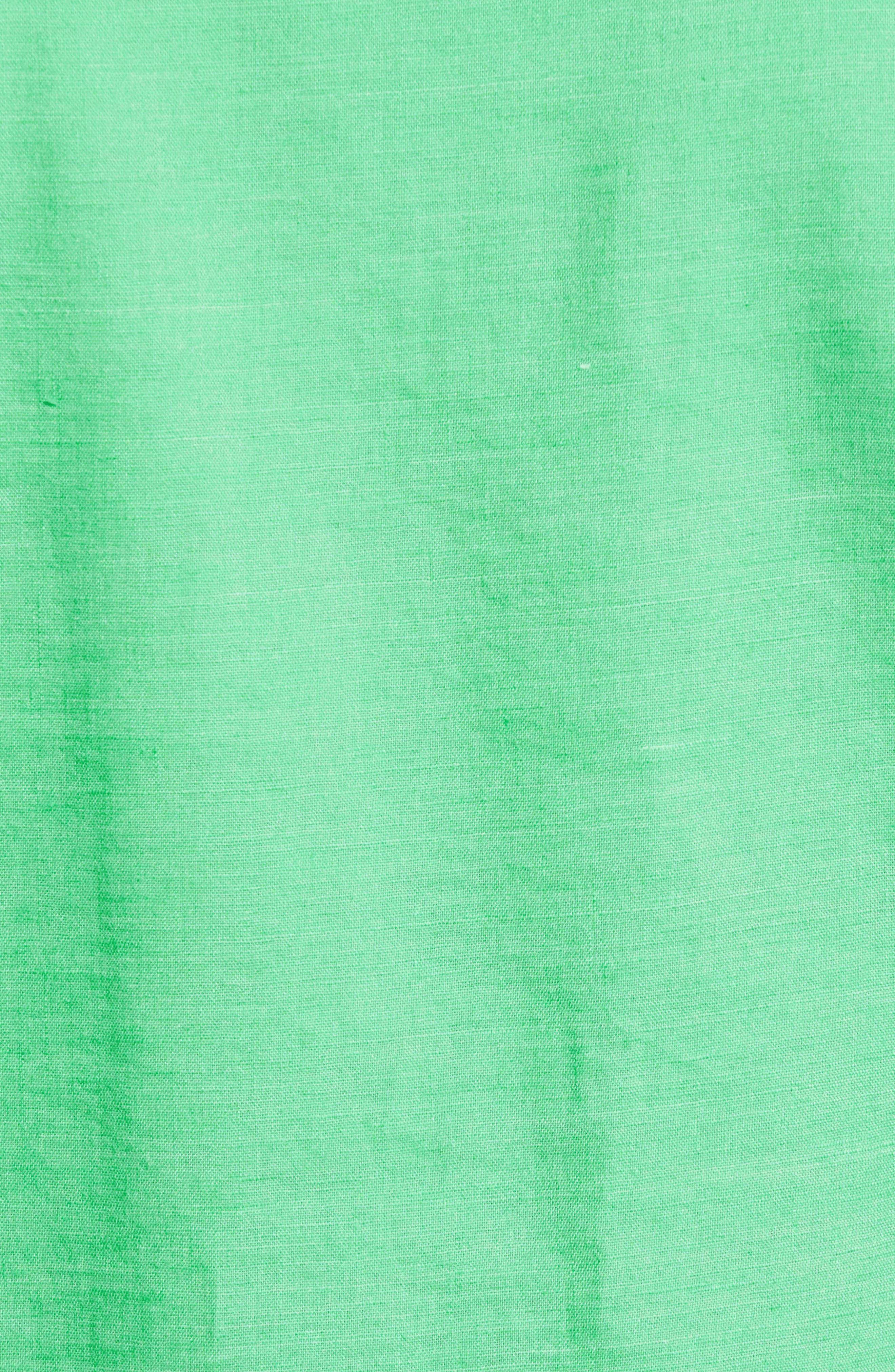 Monaco Tides Standard Fit Linen Blend Camp Shirt,                             Alternate thumbnail 27, color,