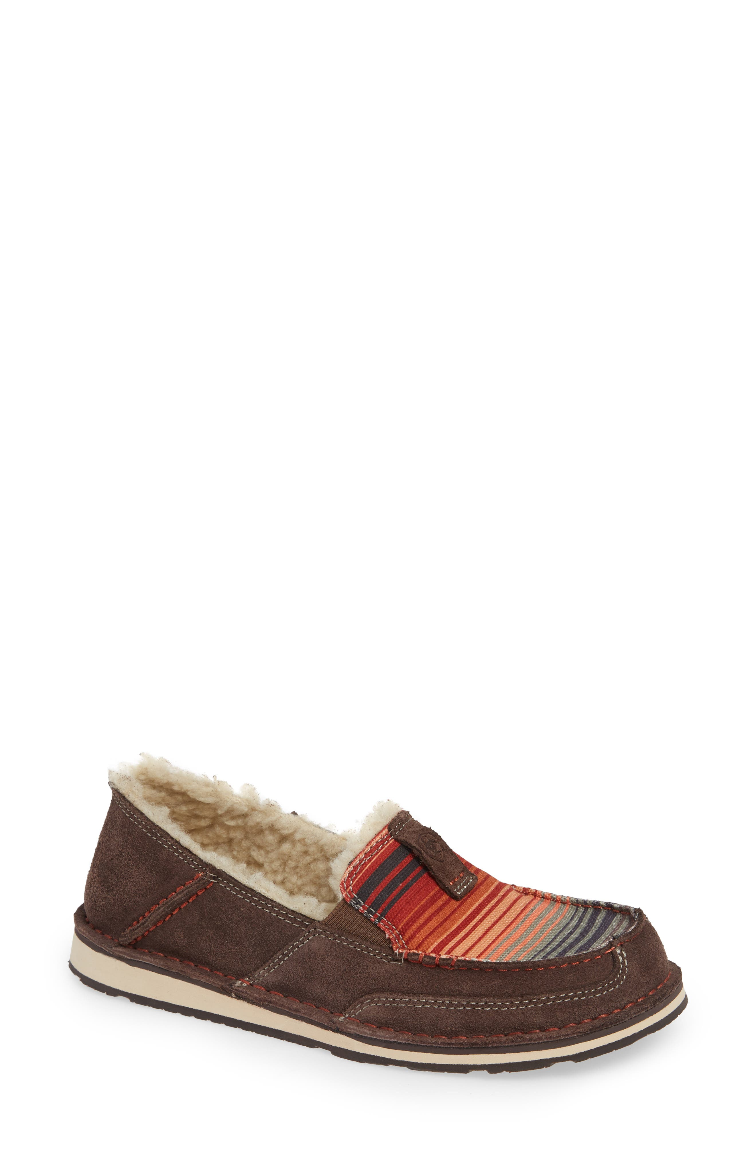 ARIAT Cruiser Slip-On Loafer, Main, color, SOUTHWESTERN FABRIC