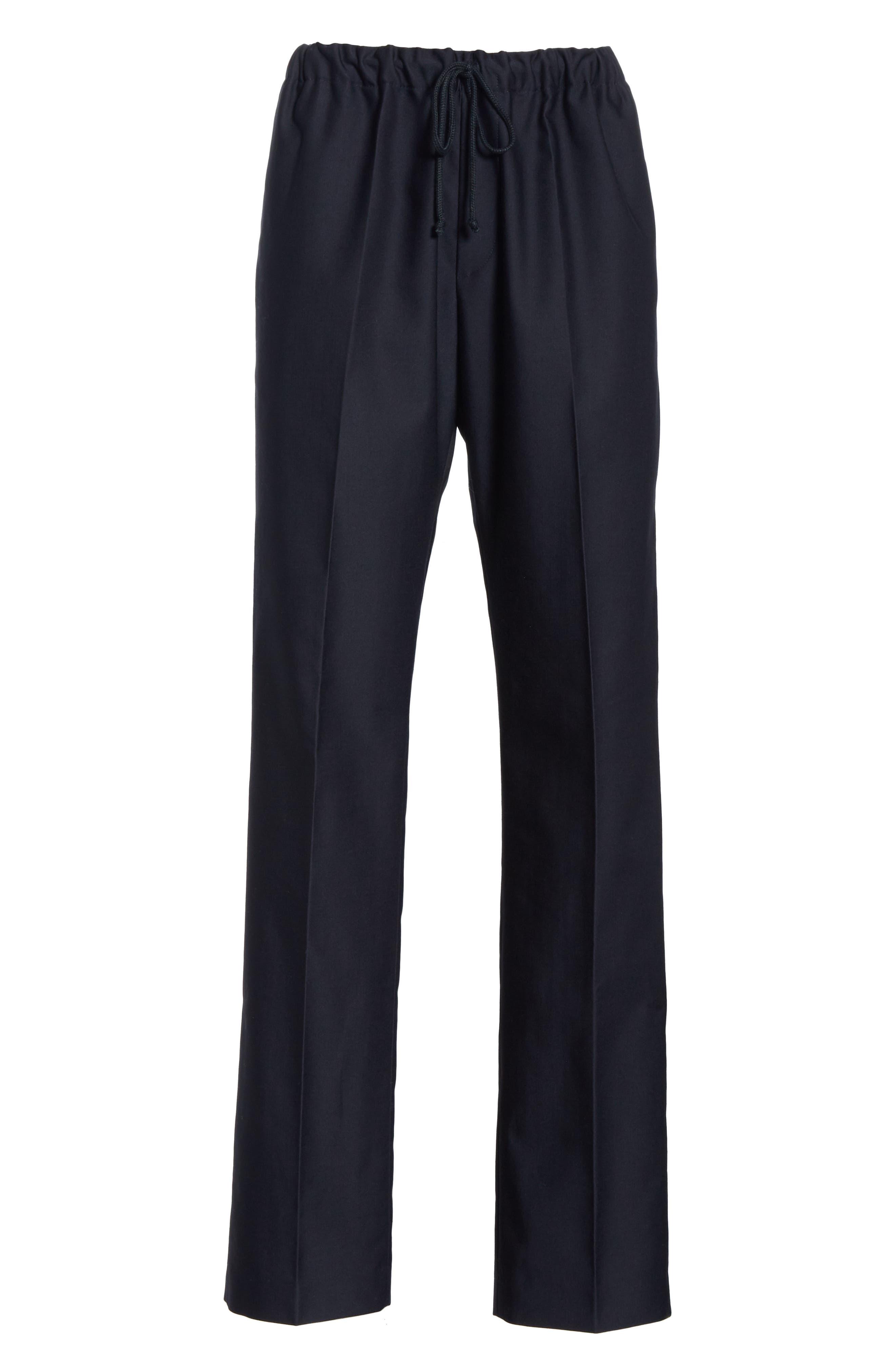 Perkino Drawstring Waist Pants,                             Alternate thumbnail 2, color,                             NAVY 509
