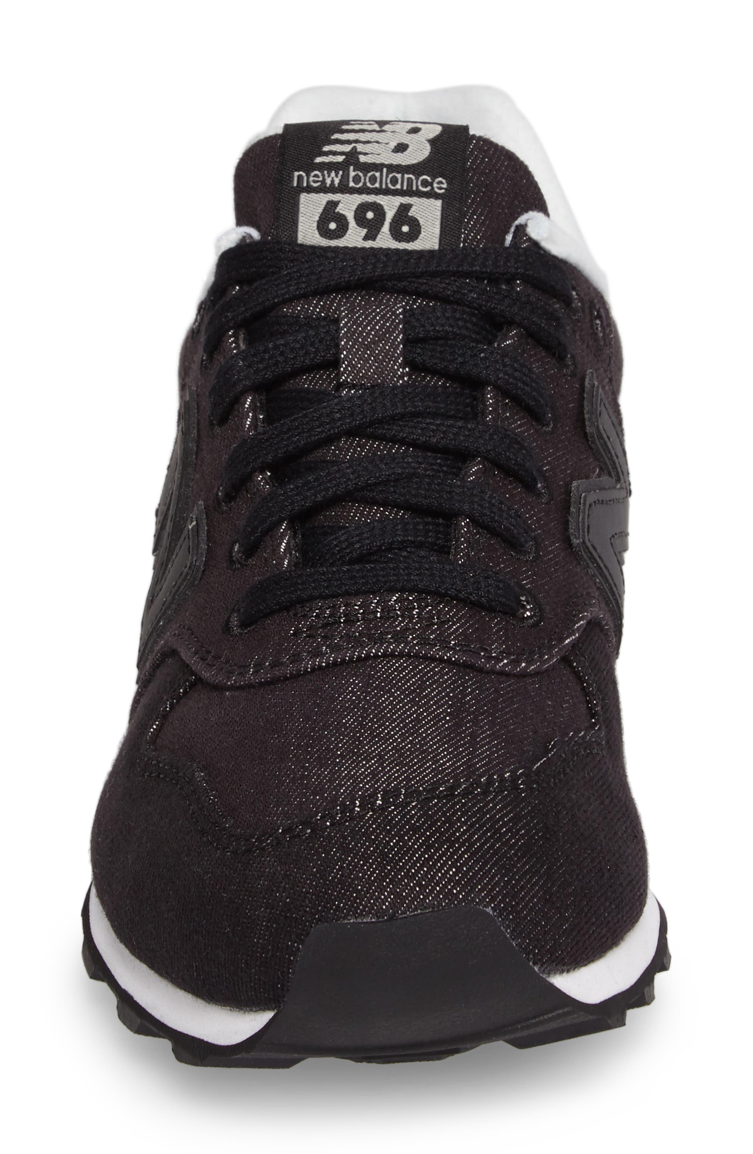 696 Sneaker,                             Alternate thumbnail 4, color,                             001