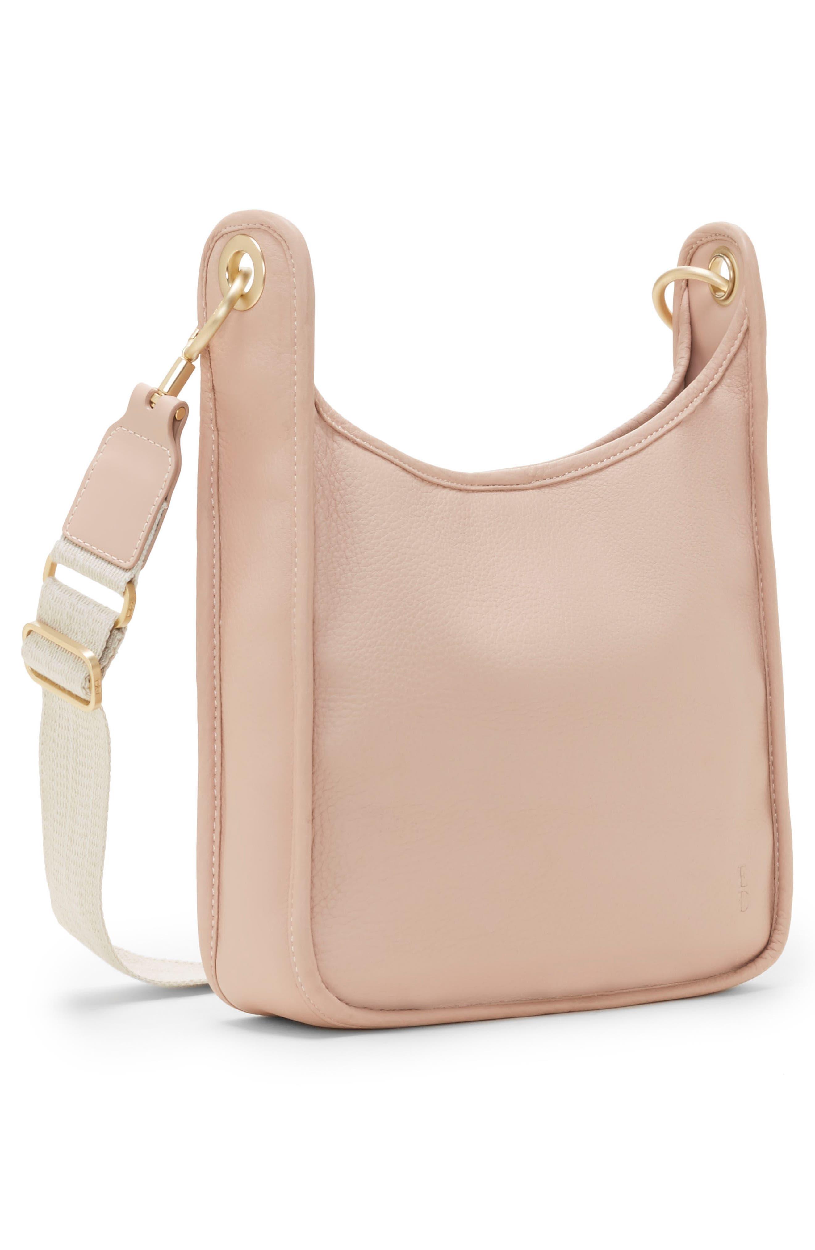 Leather Crossbody Bag,                             Alternate thumbnail 15, color,