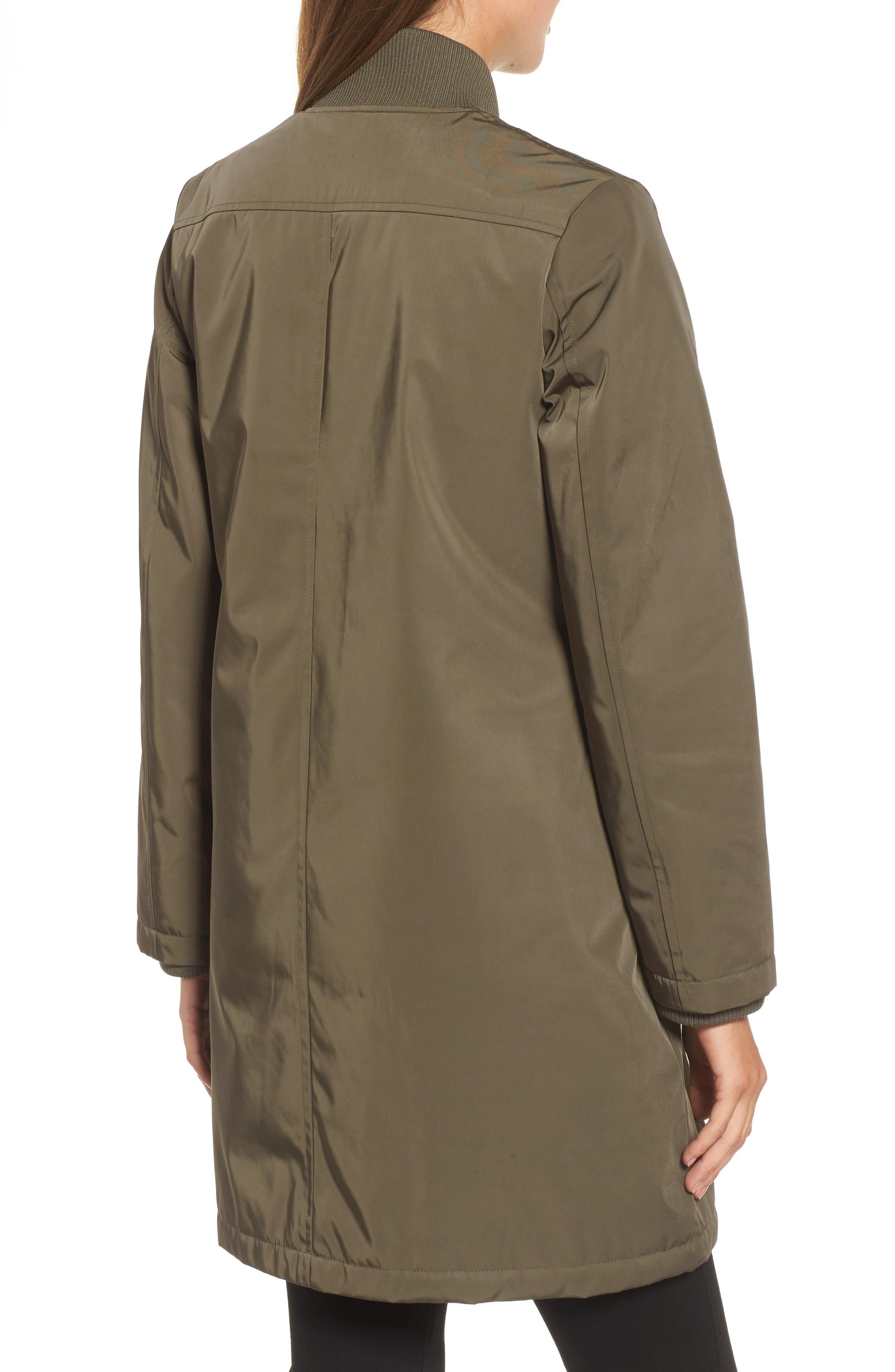 Calson<sup>®</sup> Long Bomber Jacket,                             Alternate thumbnail 4, color,