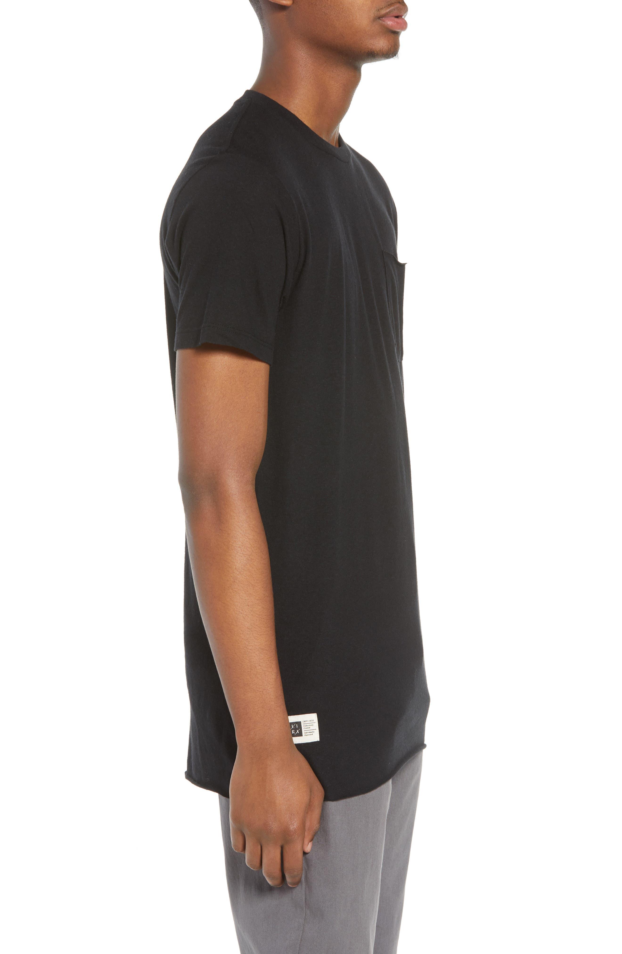 Winslow T-Shirt,                             Alternate thumbnail 3, color,                             001