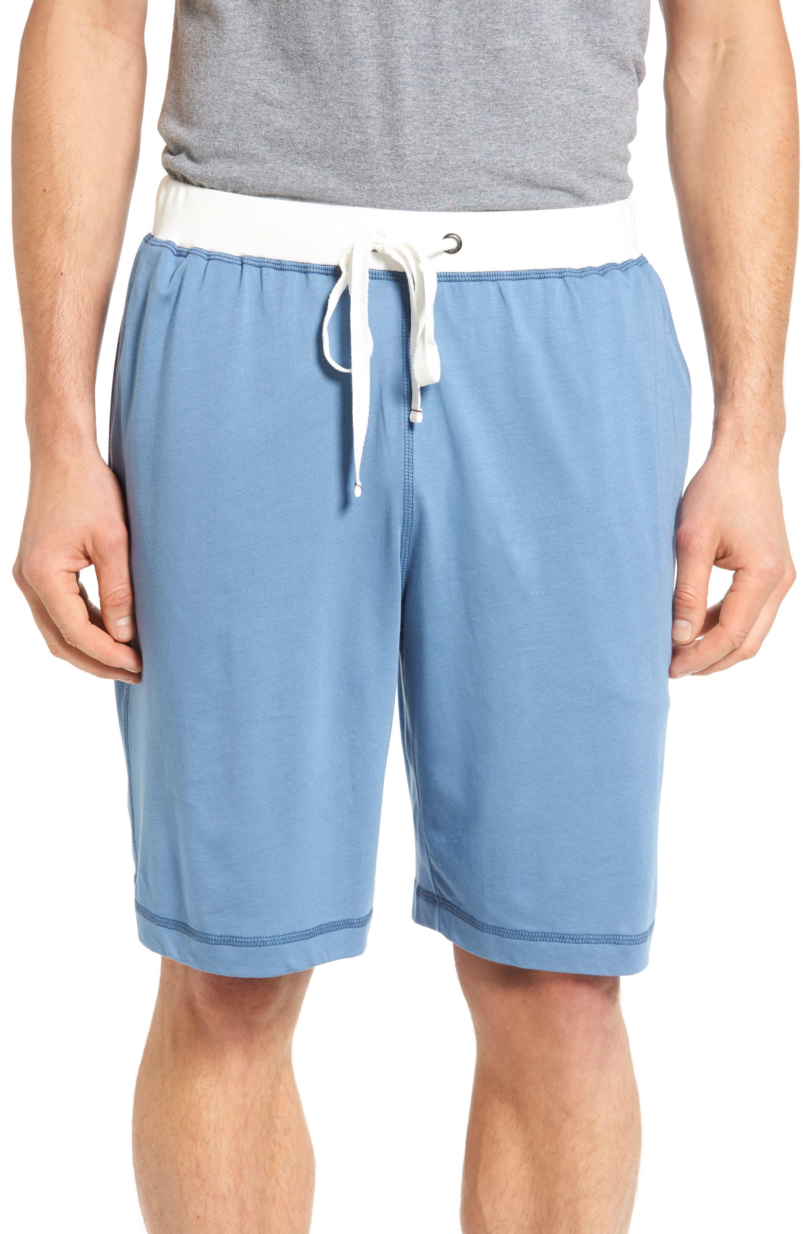 Pima Cotton & Modal Lounge Shorts,                         Main,                         color, 400