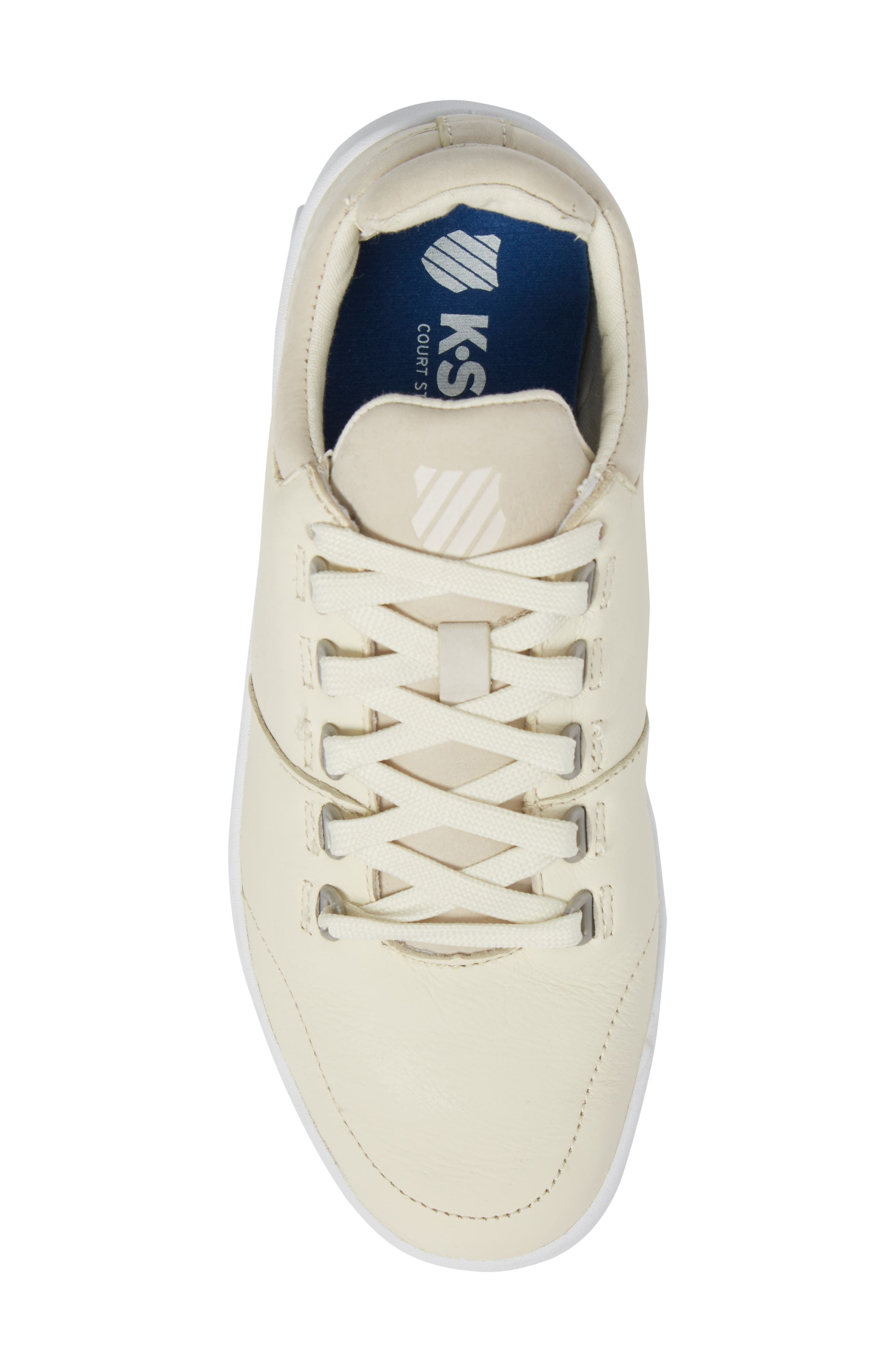 Aero Trainer Sneaker,                             Alternate thumbnail 5, color,                             VANILLA ICE/ WHITE