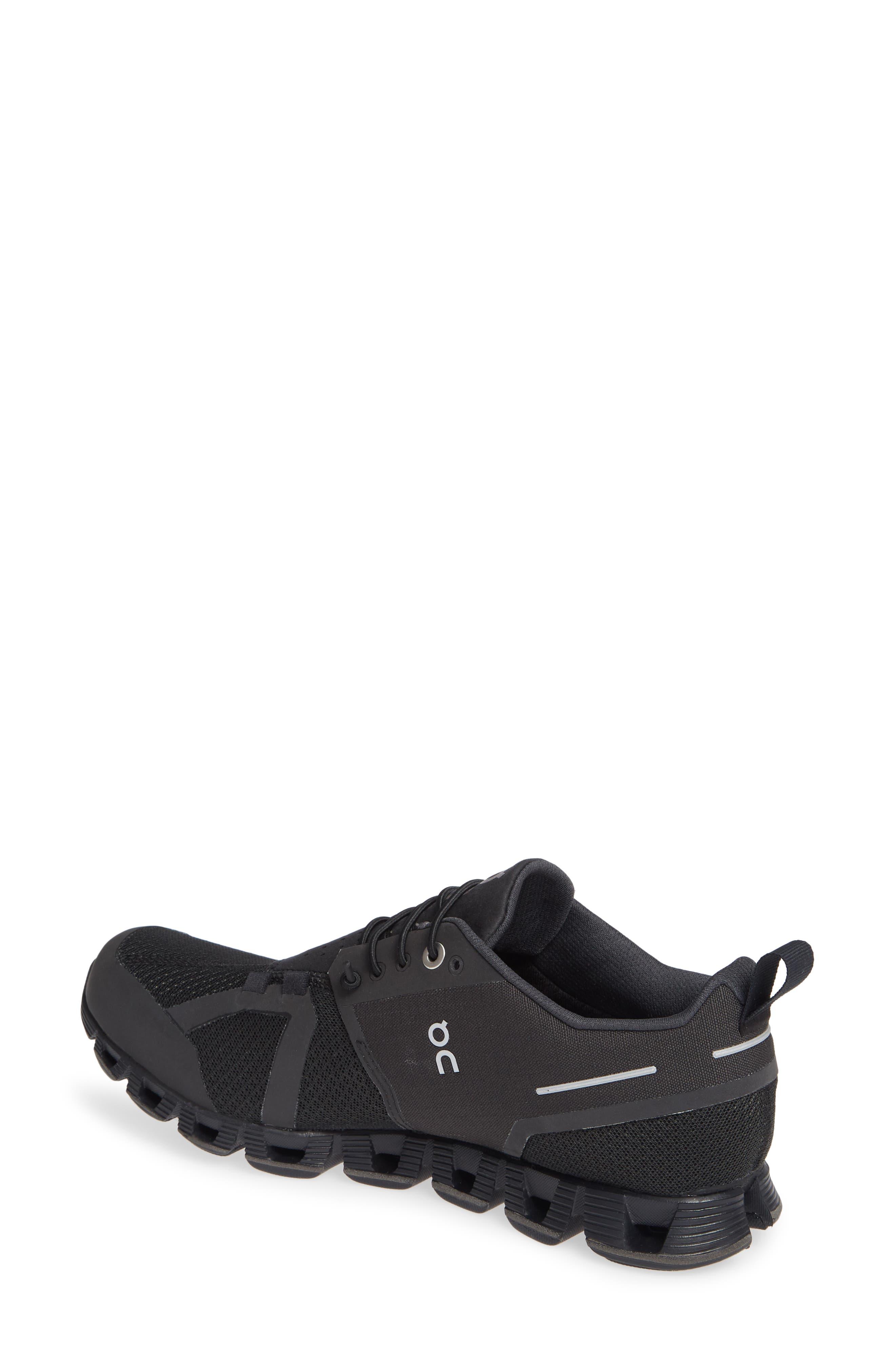 Cloud Waterproof Running Shoe,                             Alternate thumbnail 2, color,                             BLACK/ LUNAR