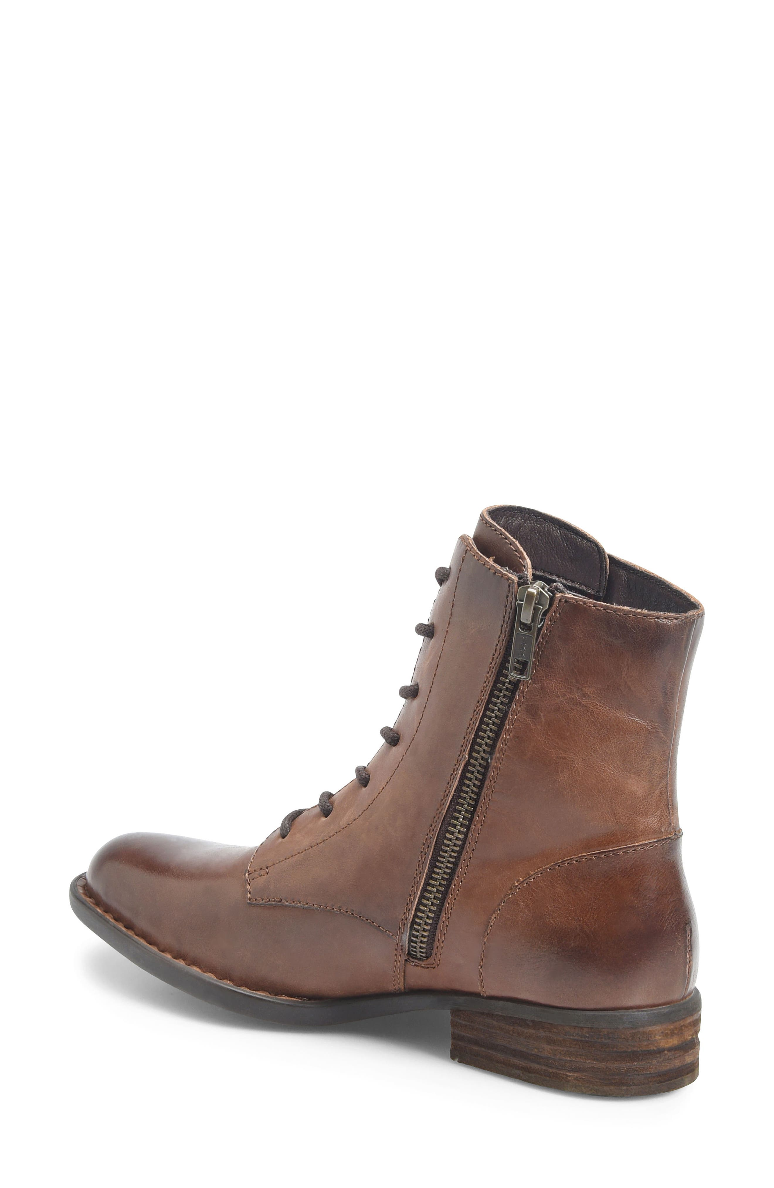 Clements Lace-Up Boot,                             Alternate thumbnail 8, color,