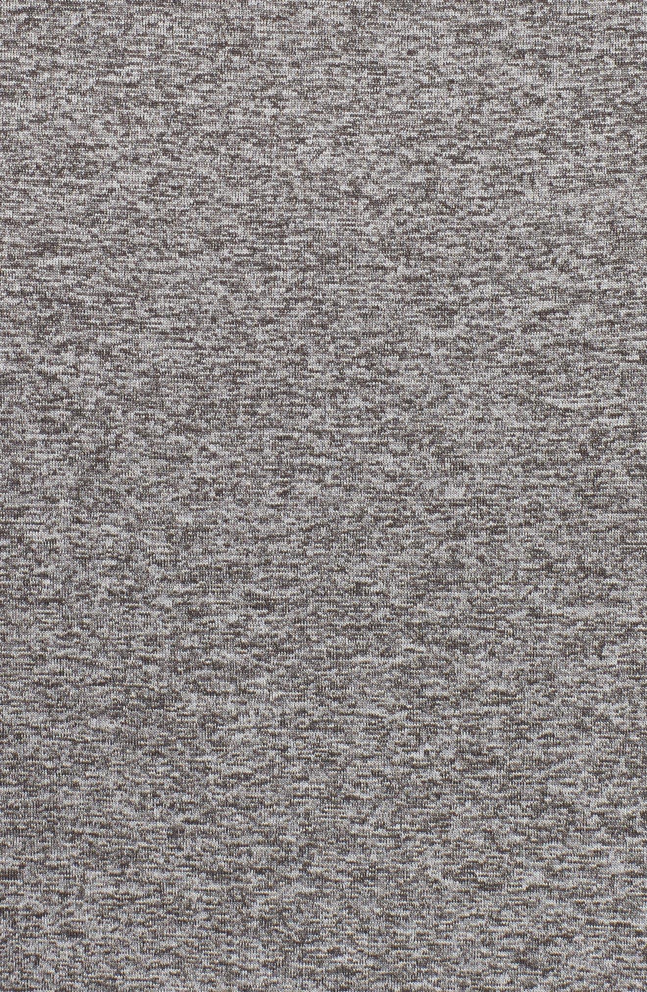 UA Tech<sup>™</sup> T-Shirt,                             Alternate thumbnail 5, color,                             CHARCOAL LIGHT HEATHER