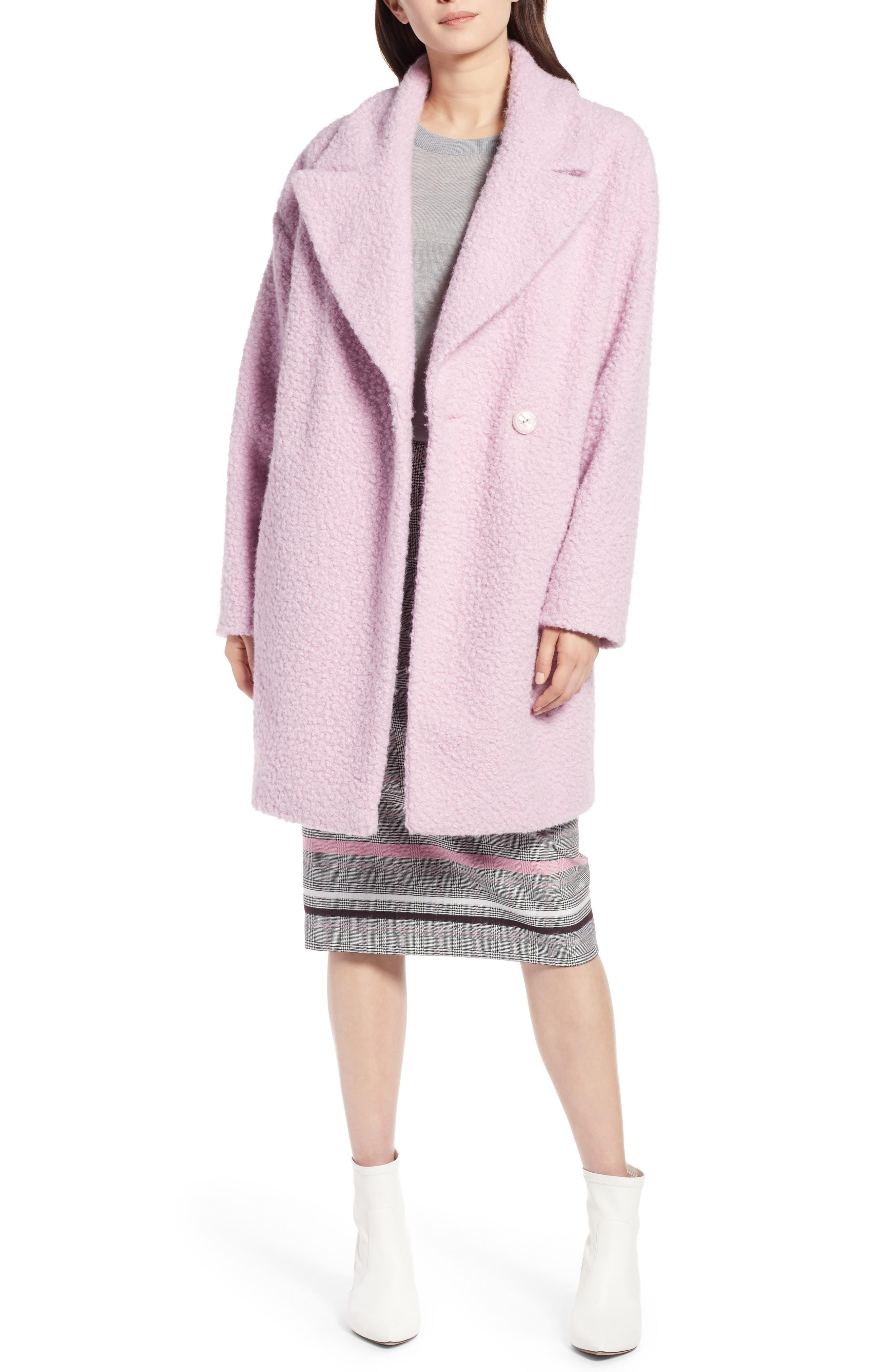 Bouclé Coat by Halogen®