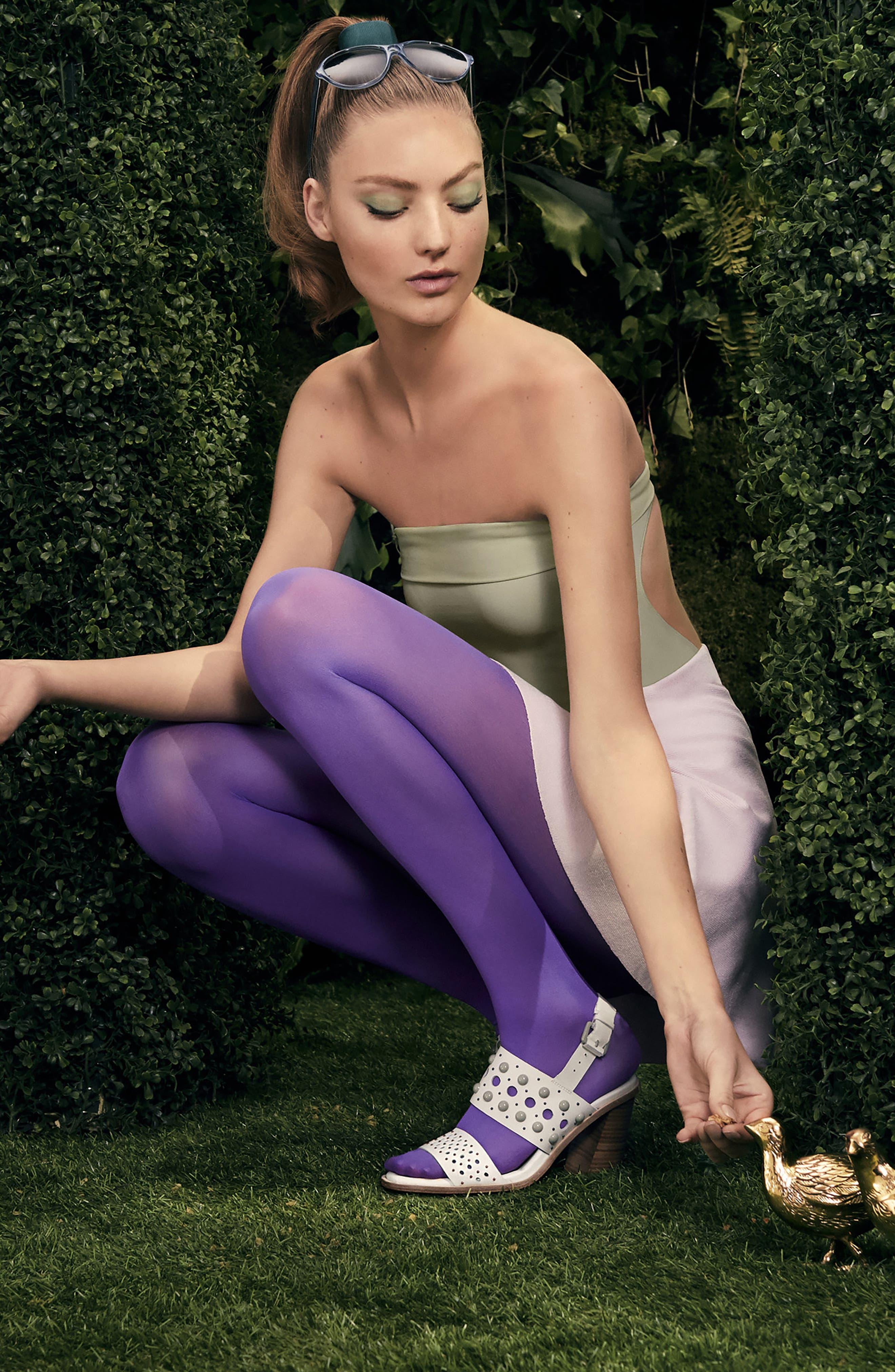 Estee Studded Sandal,                             Alternate thumbnail 7, color,                             100