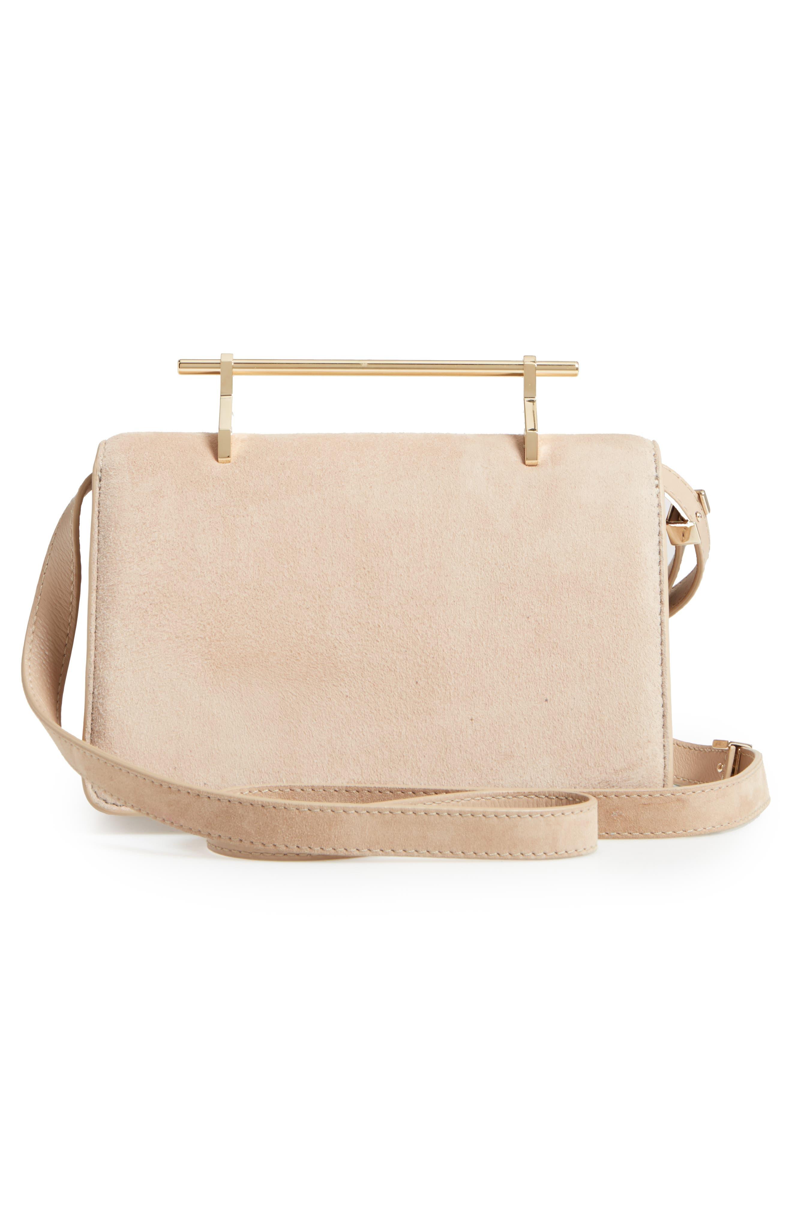 Indre Suede Shoulder Bag,                             Alternate thumbnail 3, color,                             200