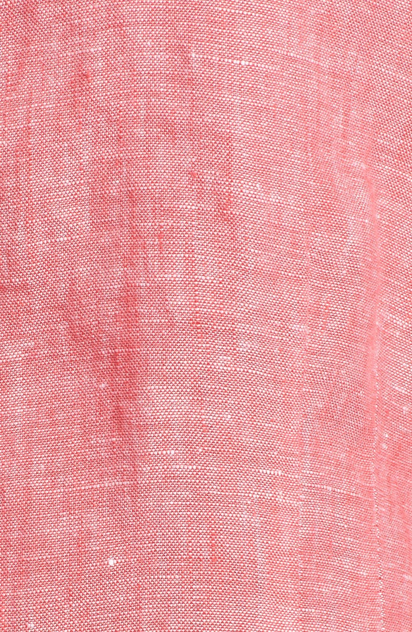 Linen Chambray Shirt,                             Alternate thumbnail 35, color,