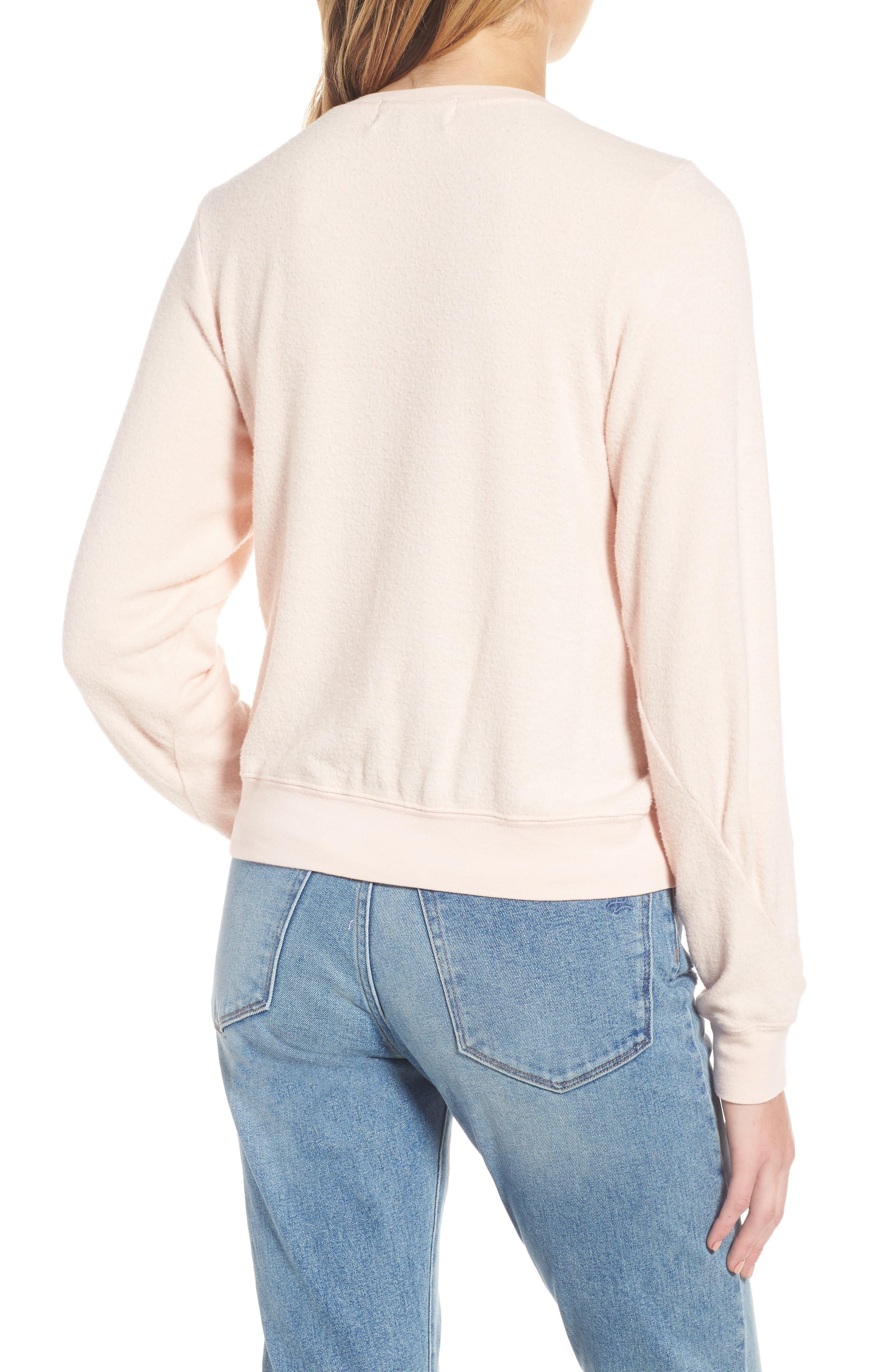 Heart Sweatshirt,                             Alternate thumbnail 2, color,                             650