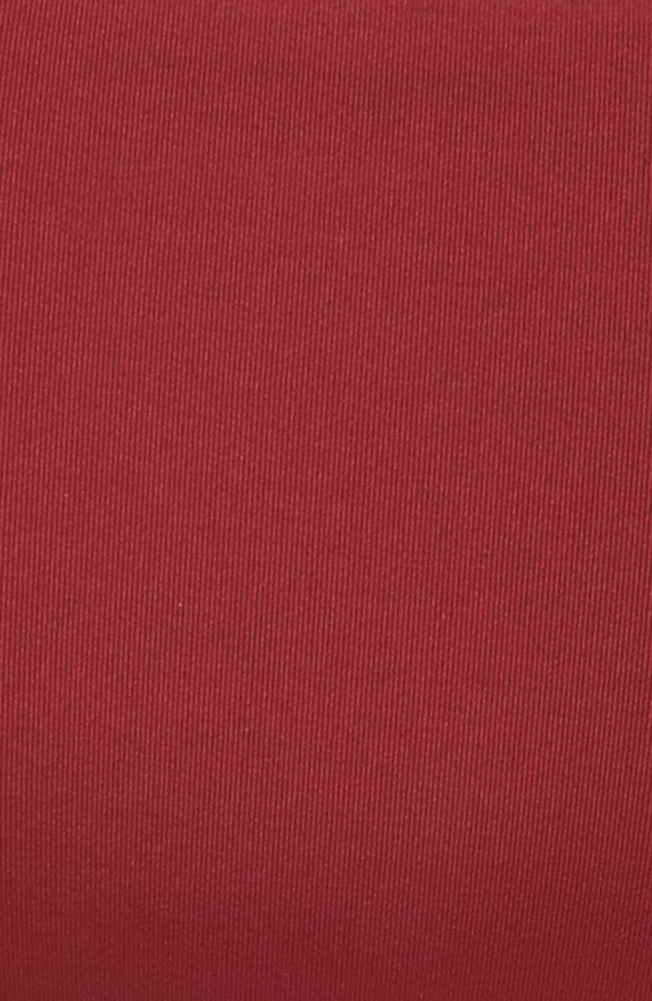 Sienna Reversible Hipster Bikini Bottoms,                             Alternate thumbnail 6, color,                             RED RUMBA