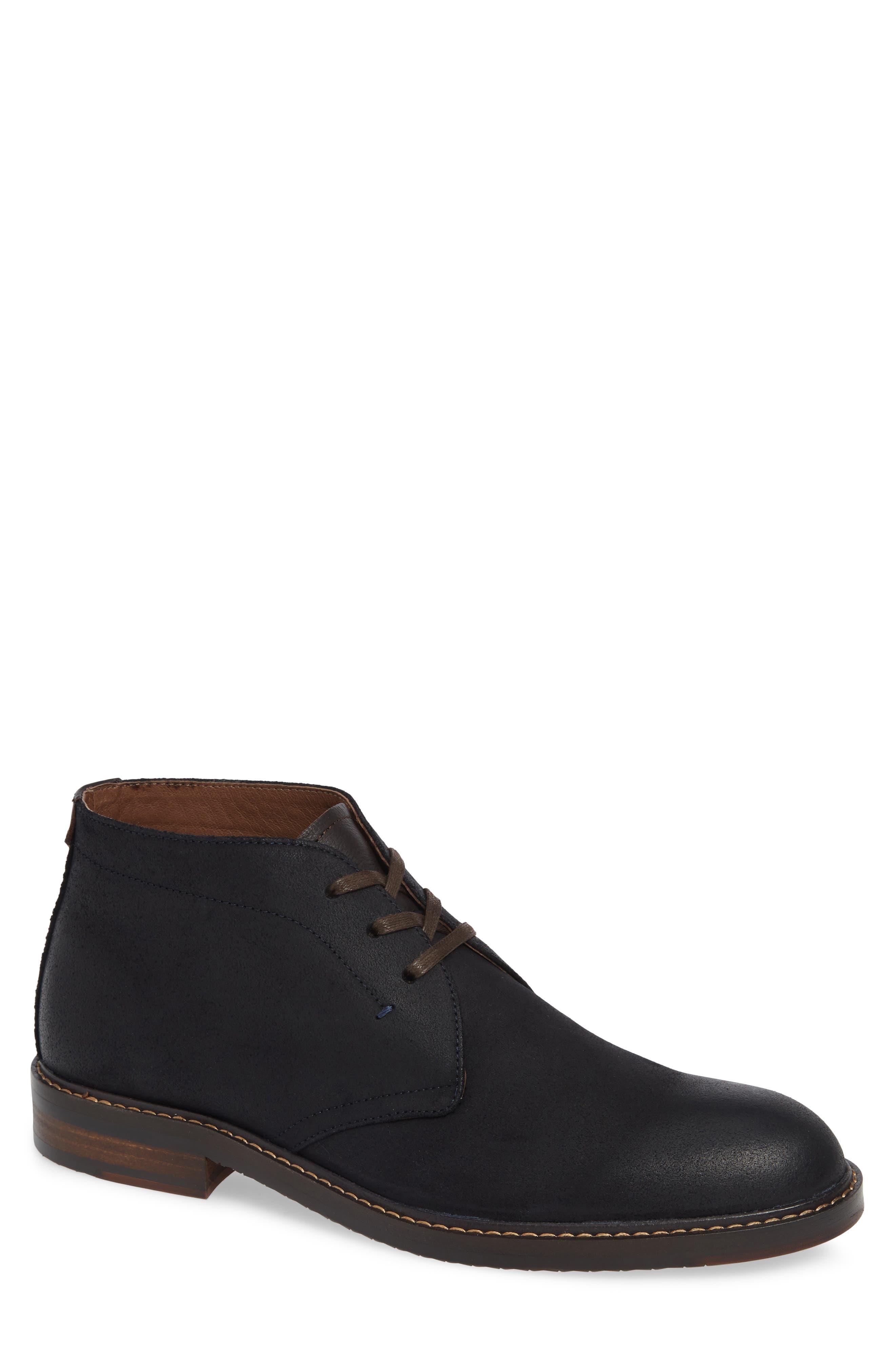 Auburn Chukka Boot,                         Main,                         color, MIDNIGHT SUEDE