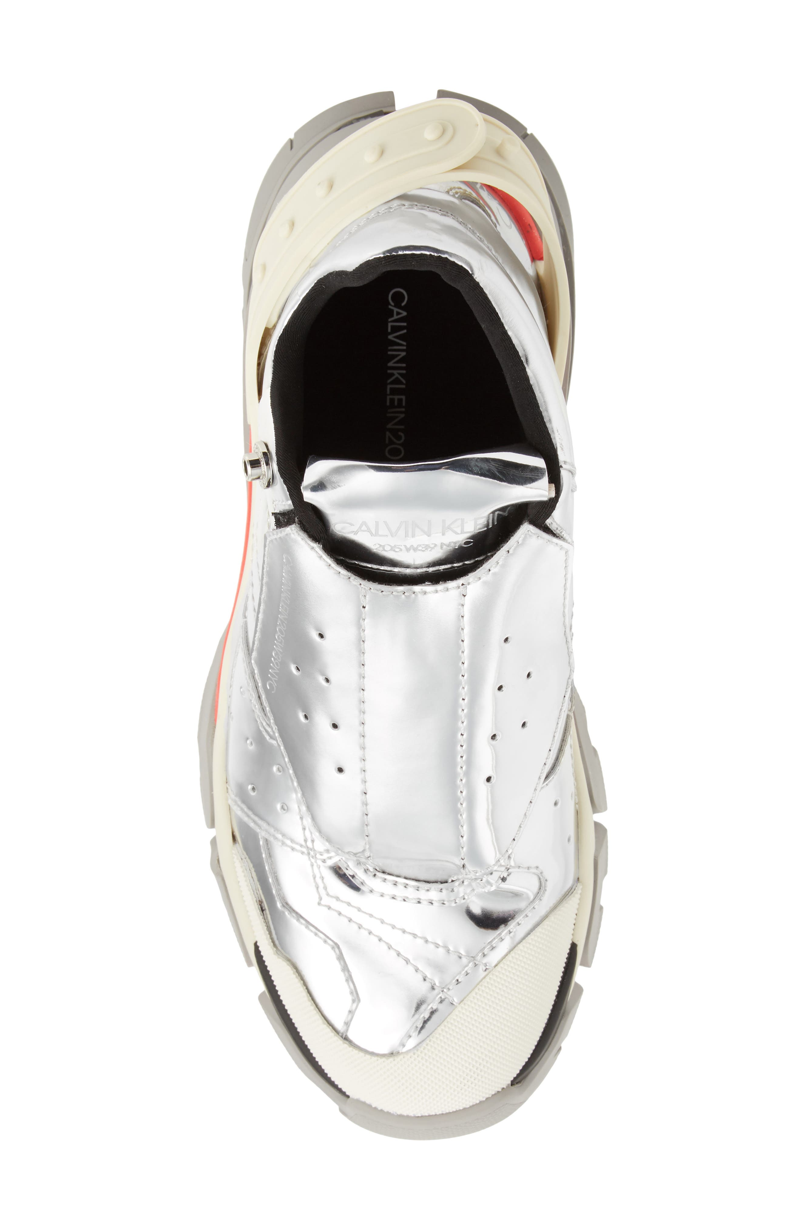 Carla Sneaker,                             Alternate thumbnail 5, color,                             SILVER
