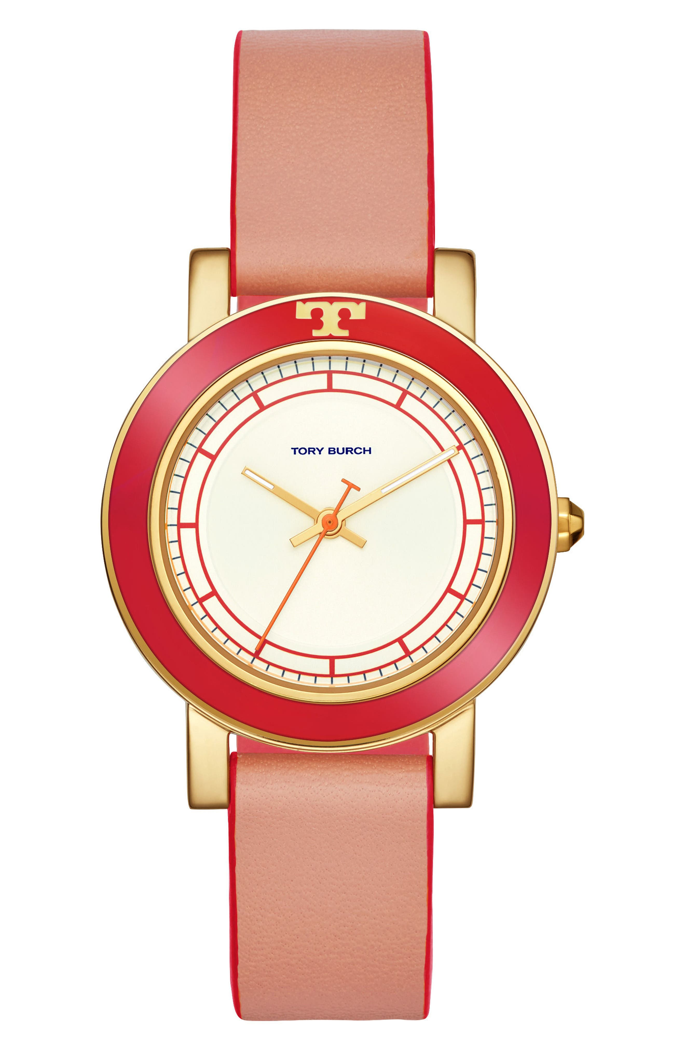 Ellsworth Leather Strap Watch, 36mm,                             Main thumbnail 5, color,