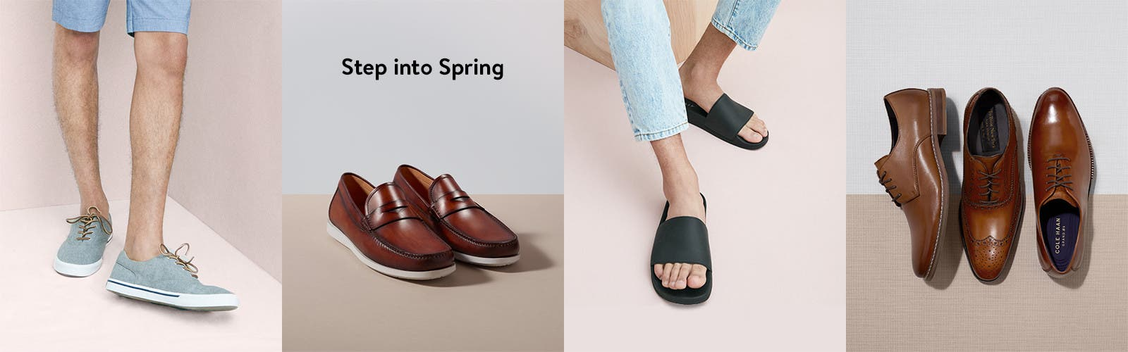 Step into spring.