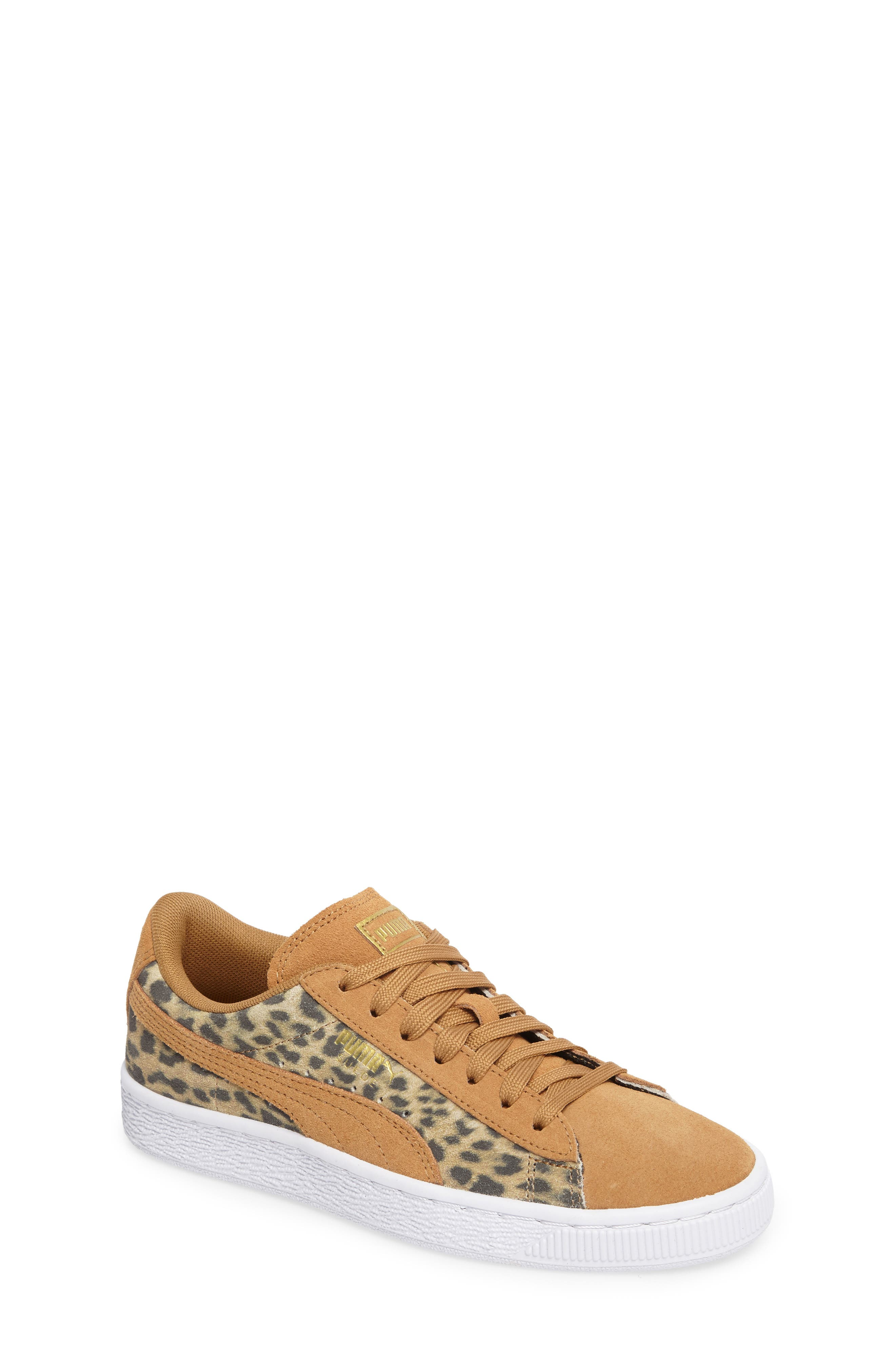 Suede Animal Sneaker,                             Main thumbnail 1, color,                             200