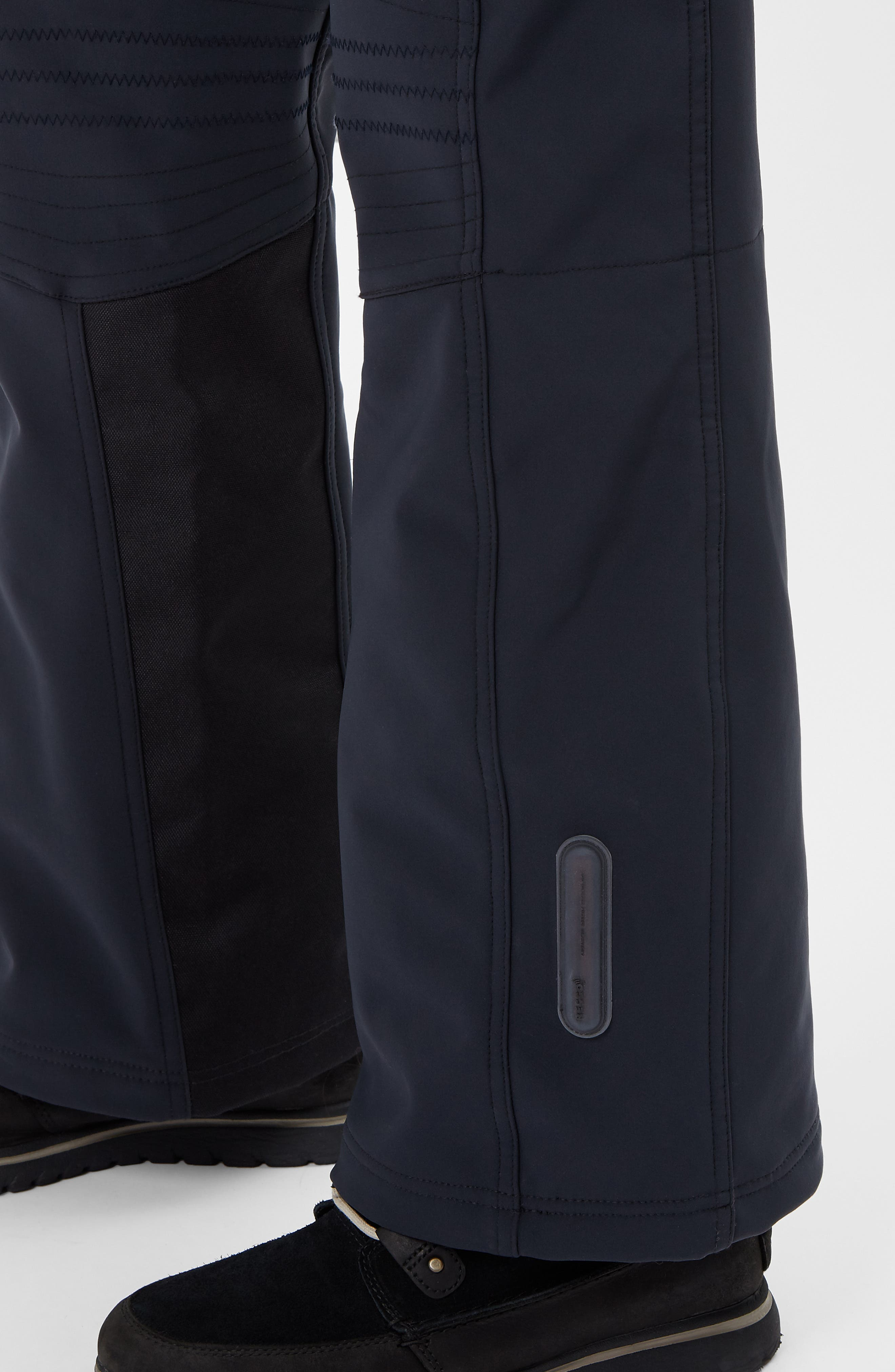 Astro Waterproof Soft Shell Ski Pants,                             Alternate thumbnail 5, color,                             BLACK