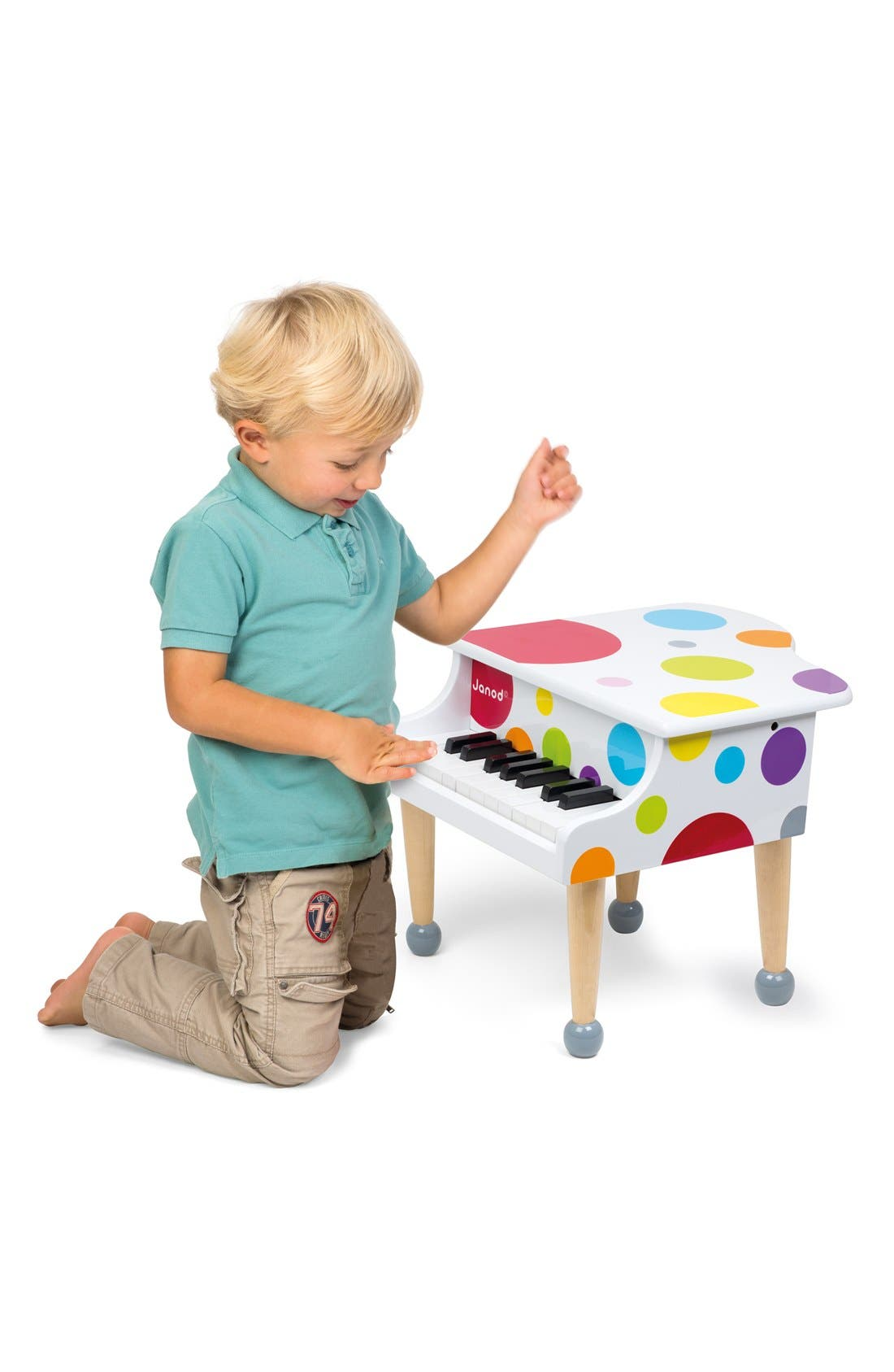 'Confetti' Grand Piano Play Set,                             Alternate thumbnail 3, color,                             MULTI