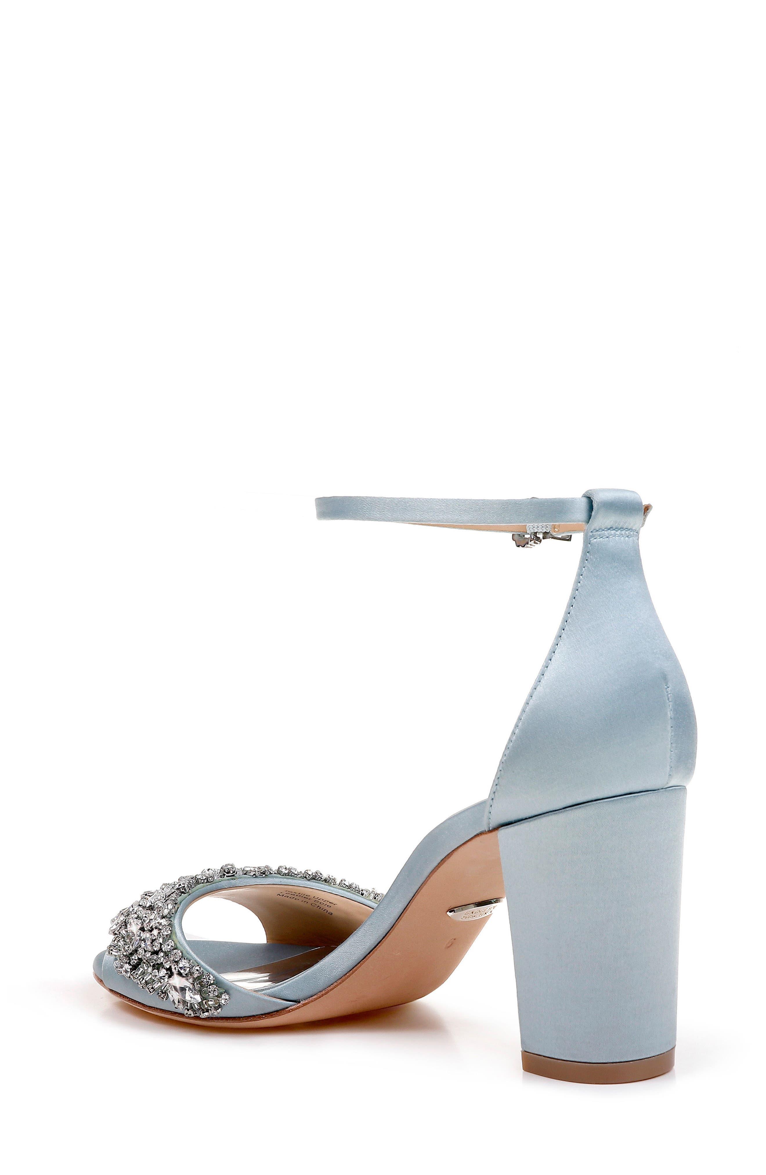 Hines Embellished Block Heel Sandal,                             Alternate thumbnail 9, color,