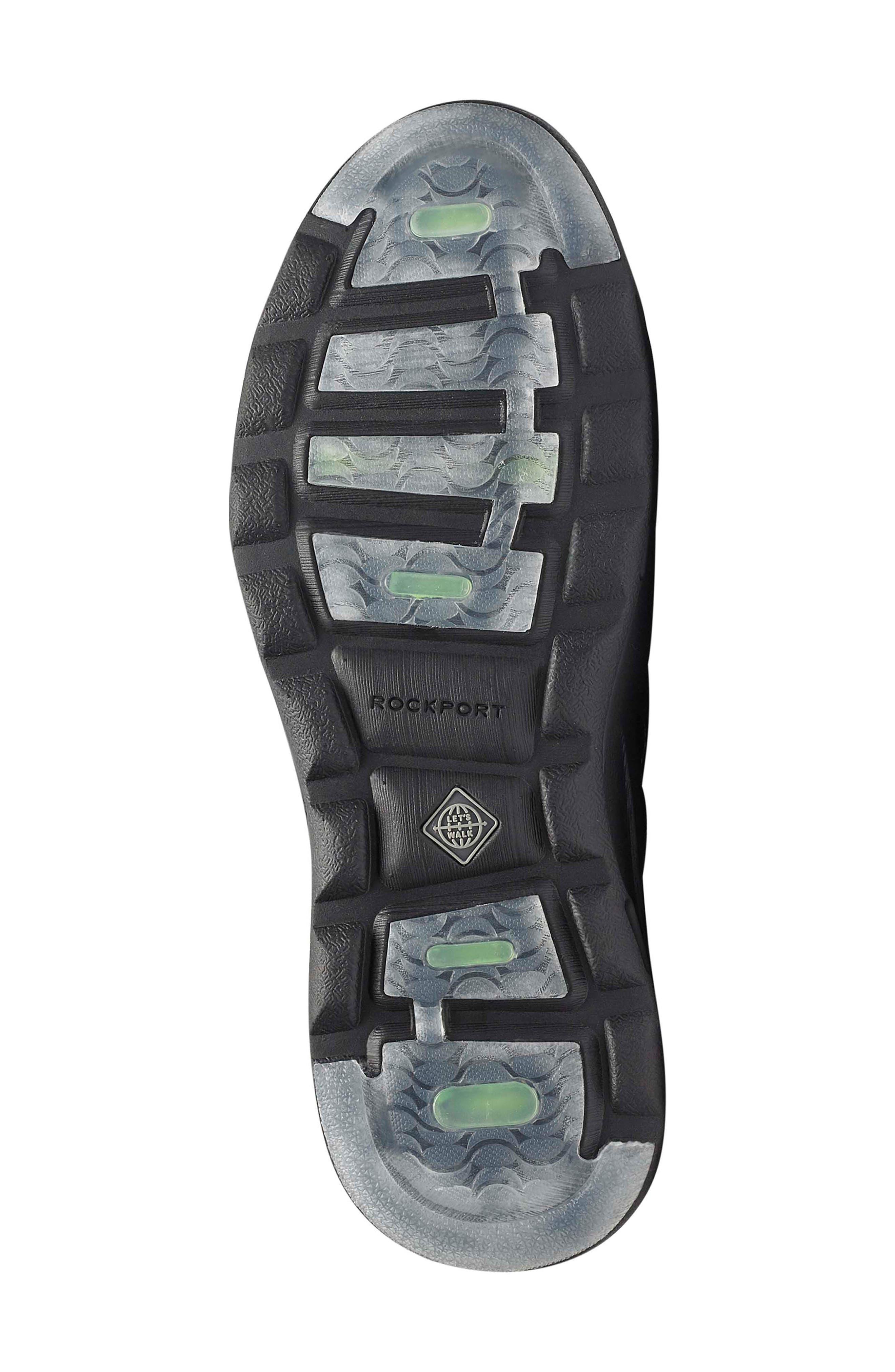 Let's Walk<sup>®</sup> Venetian Loafer,                             Alternate thumbnail 6, color,                             BLACK LEATHER