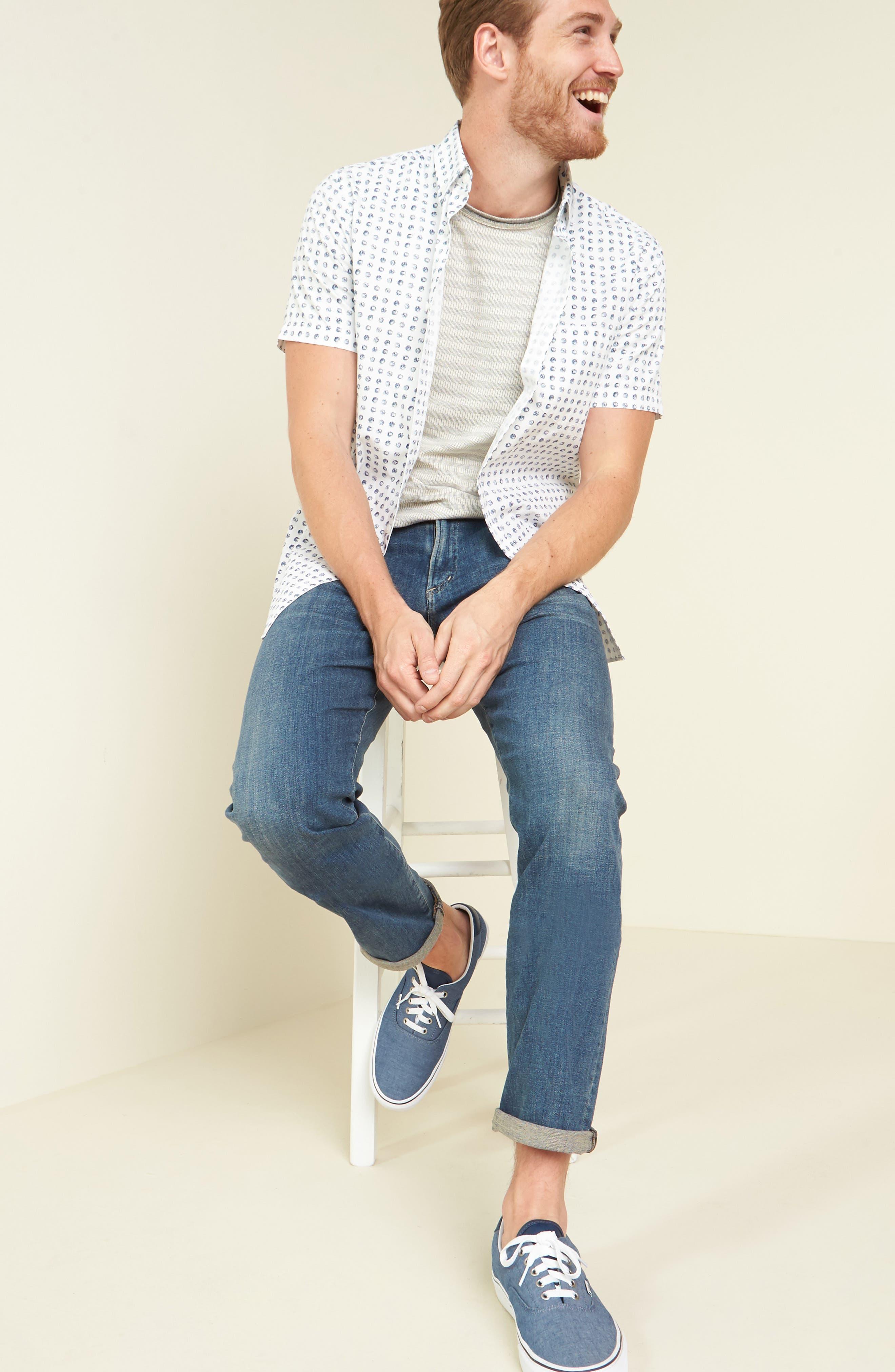 Gage Slim Straight Leg Jeans,                             Main thumbnail 1, color,                             REDFORD