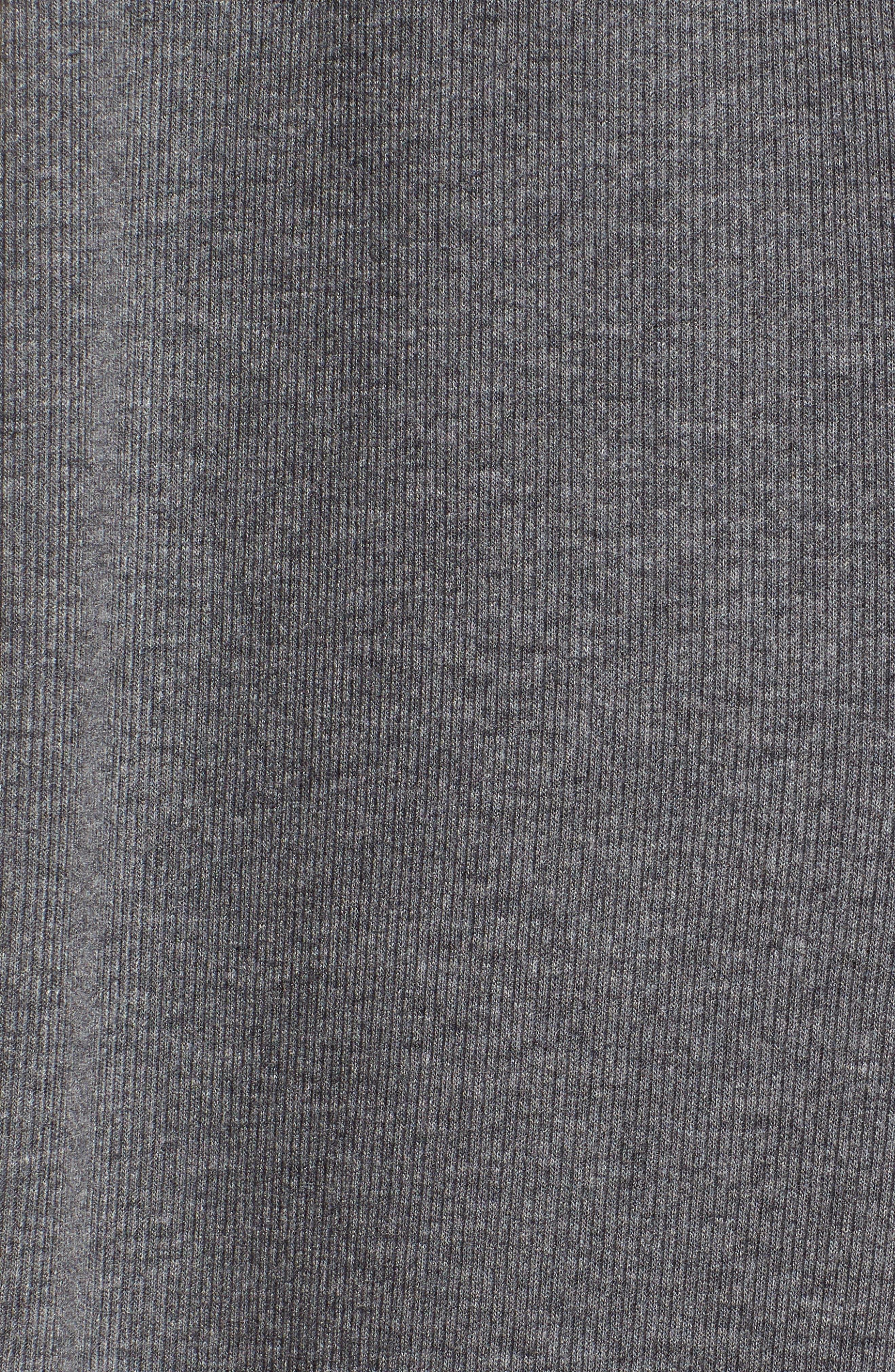 Rib Knit Leggings,                             Alternate thumbnail 7, color,                             GREY CLOUDY HEATHER